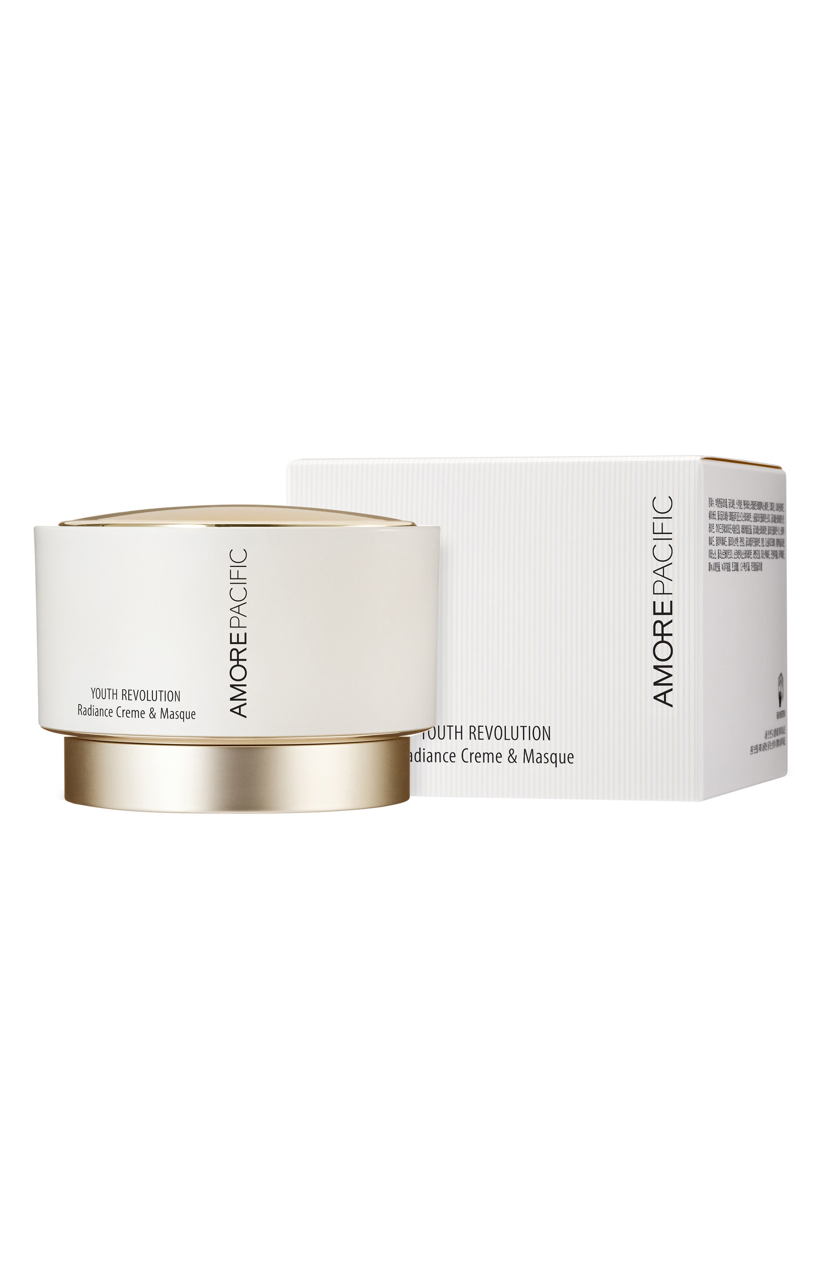 AMOREPACIFIC, Youth Revolution Radiance Creme & Masque, Alternate thumbnail 3, color, NO COLOR