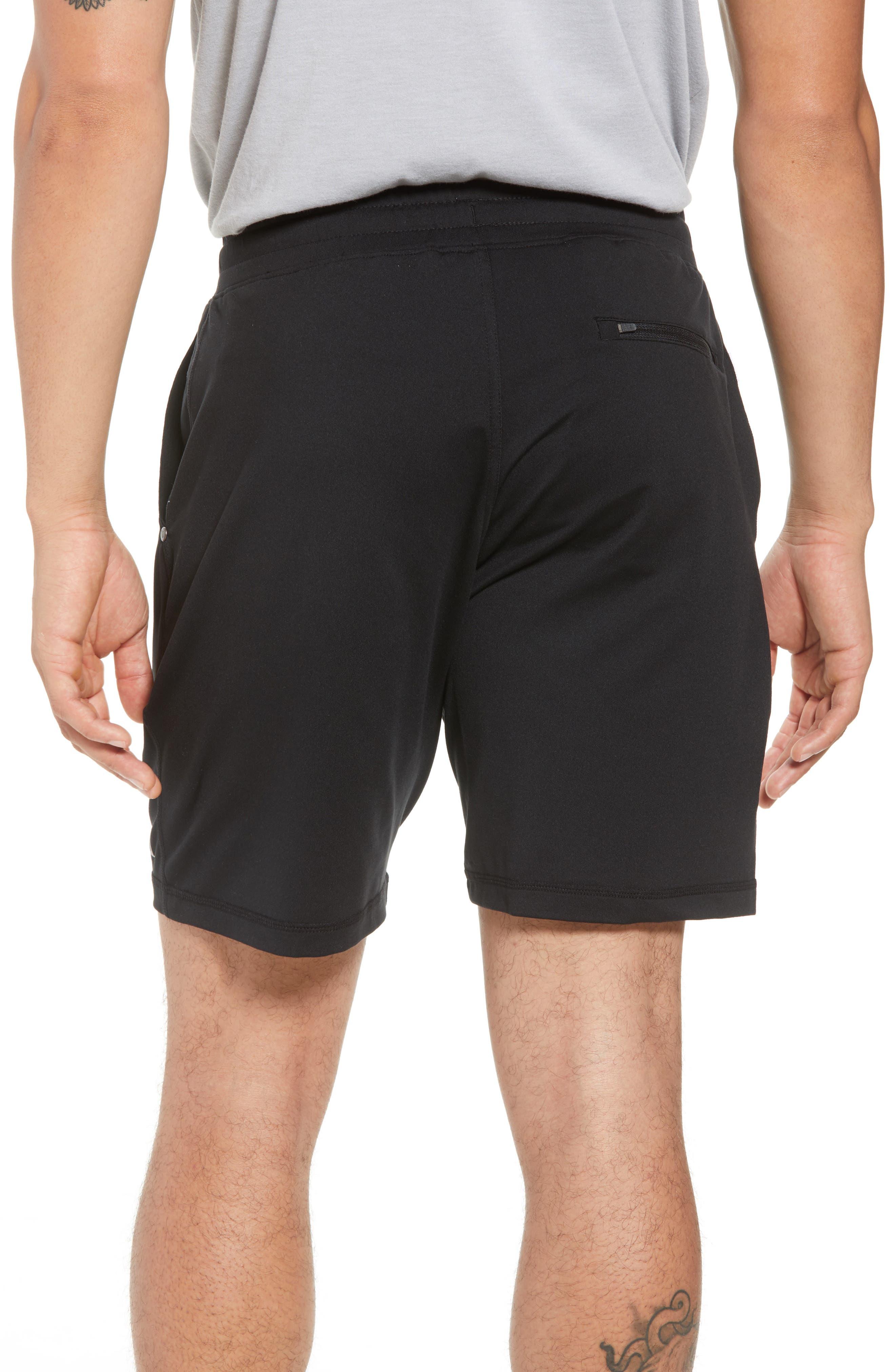 VUORI, Ponto Shorts, Alternate thumbnail 2, color, BLACK