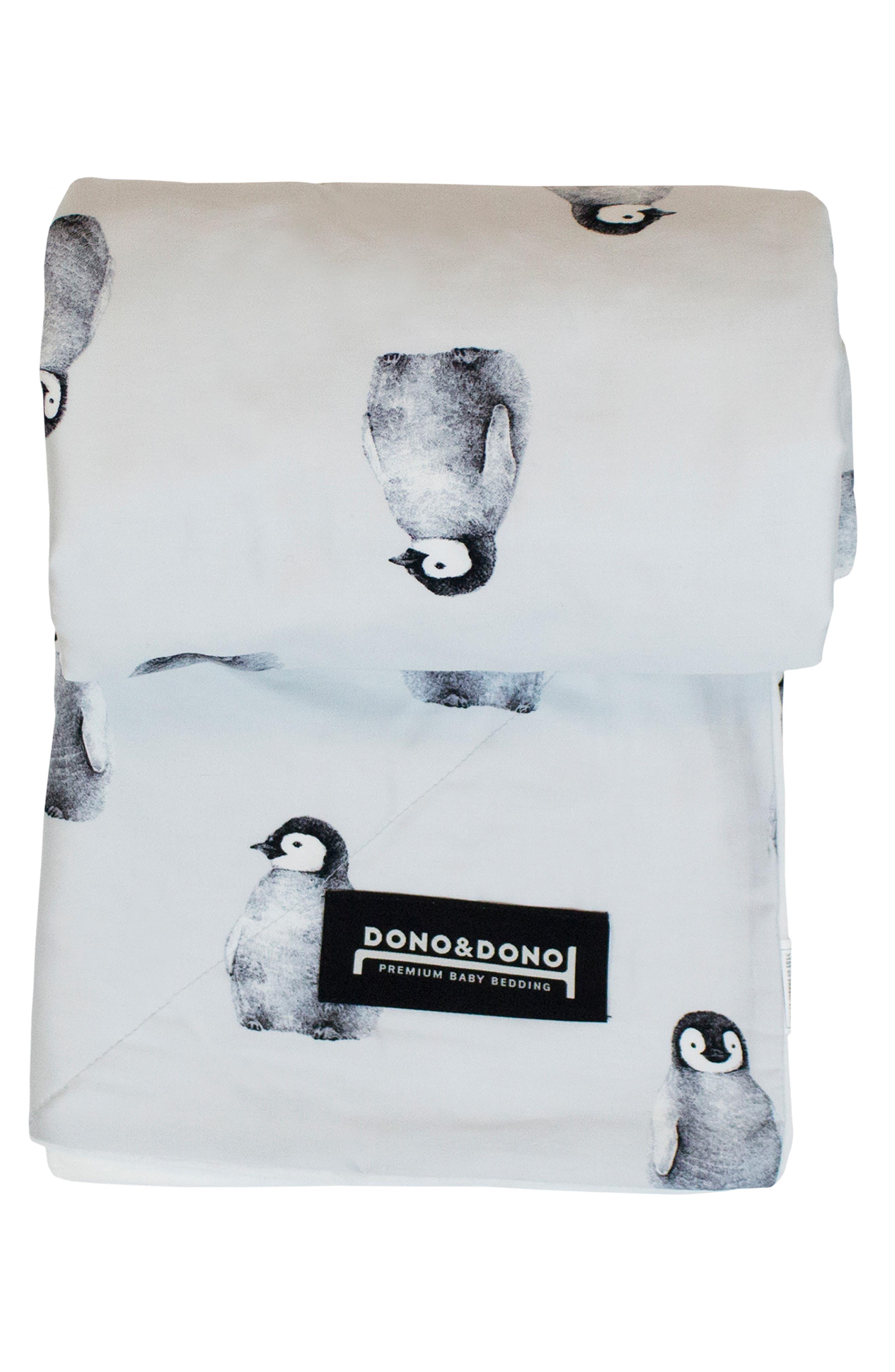 DONO & DONO, Embossed Minky Baby Blanket, Alternate thumbnail 2, color, GREY PENGKO