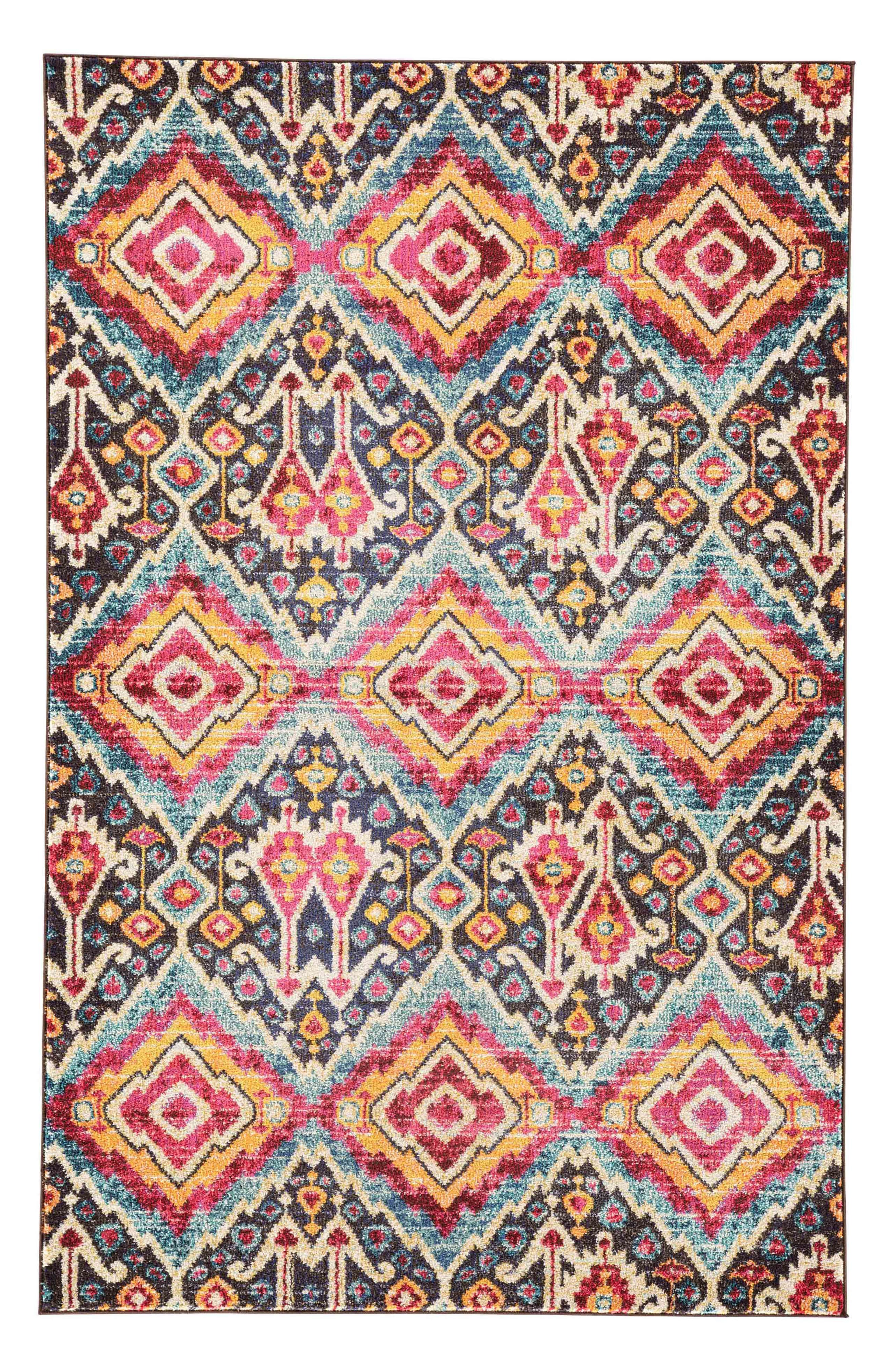 JAIPUR Amuze Rug, Main, color, FUSCHIA PURPLE