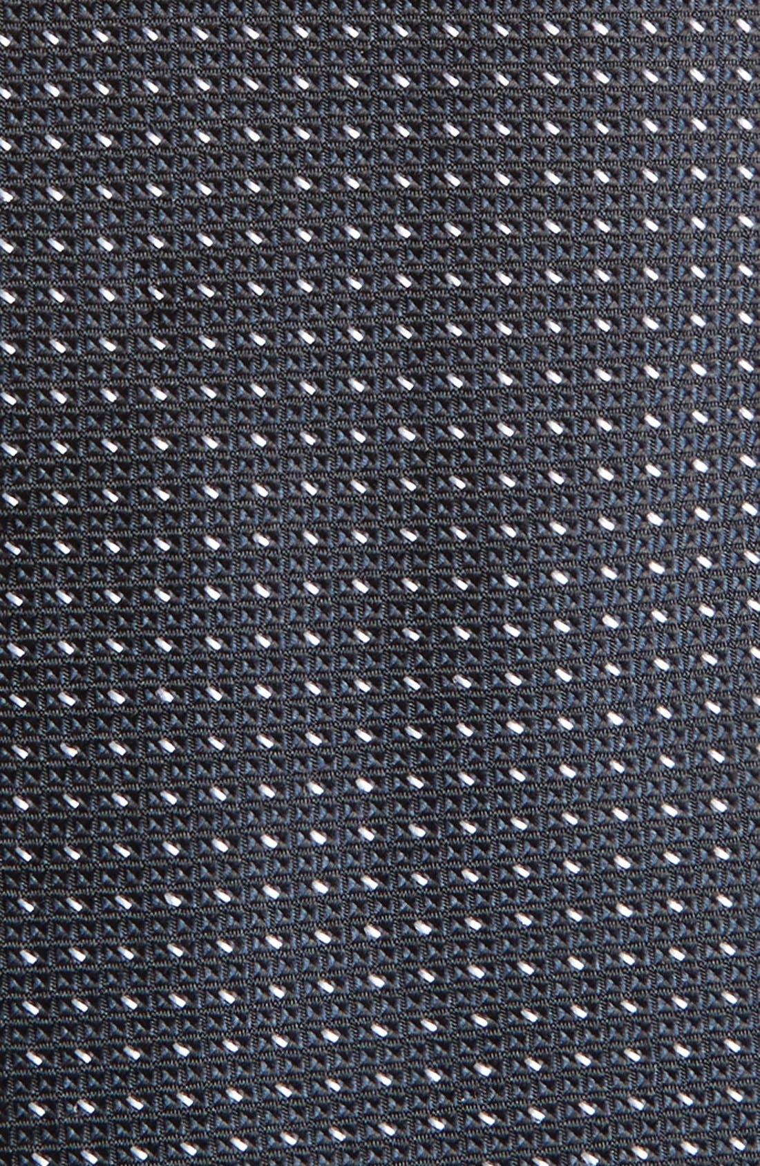 CALIBRATE, Dot Silk Tie, Alternate thumbnail 2, color, 001