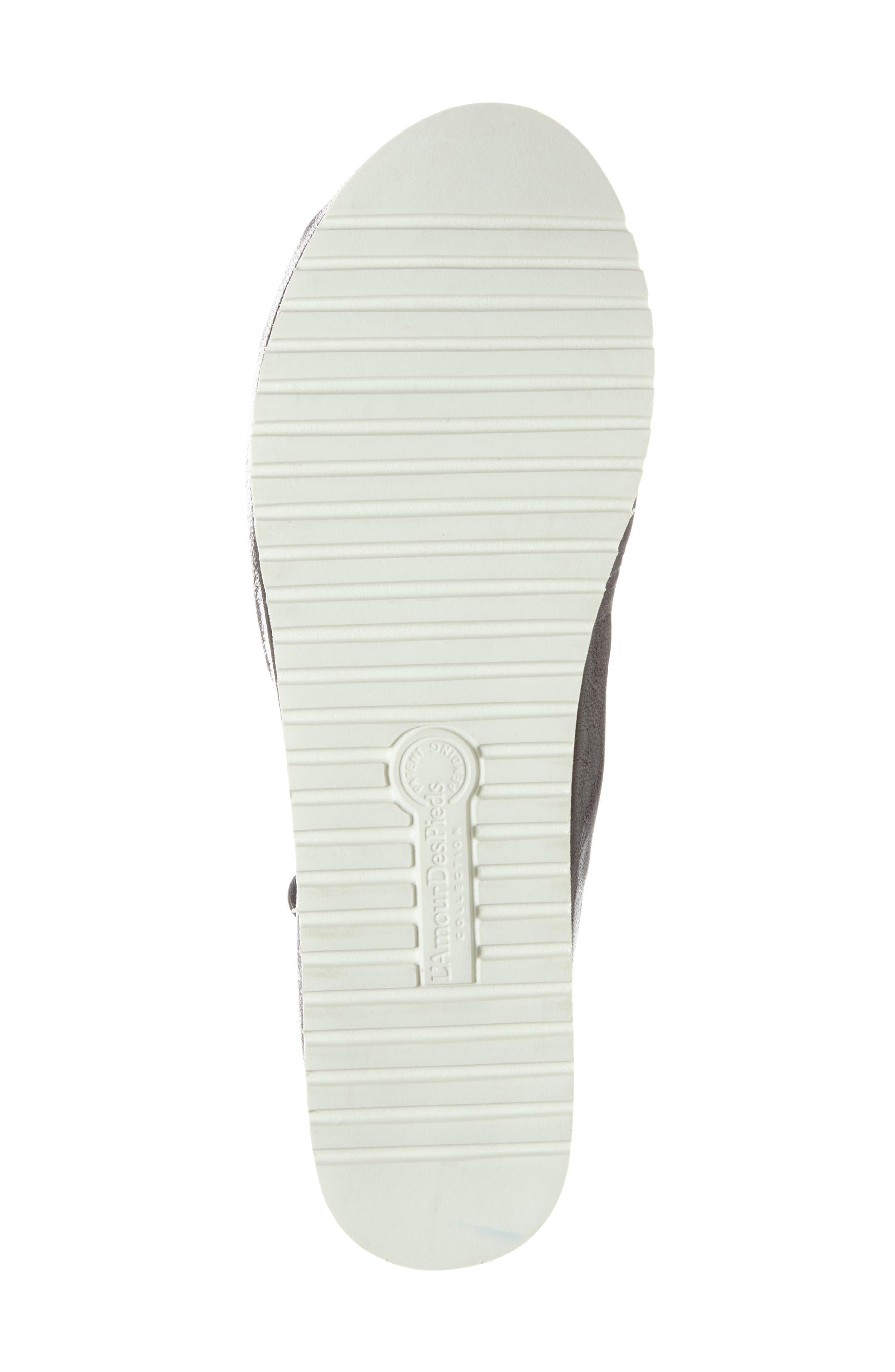 L'AMOUR DES PIEDS, 'Audric' Platform T-Strap Sandal, Alternate thumbnail 3, color, 002