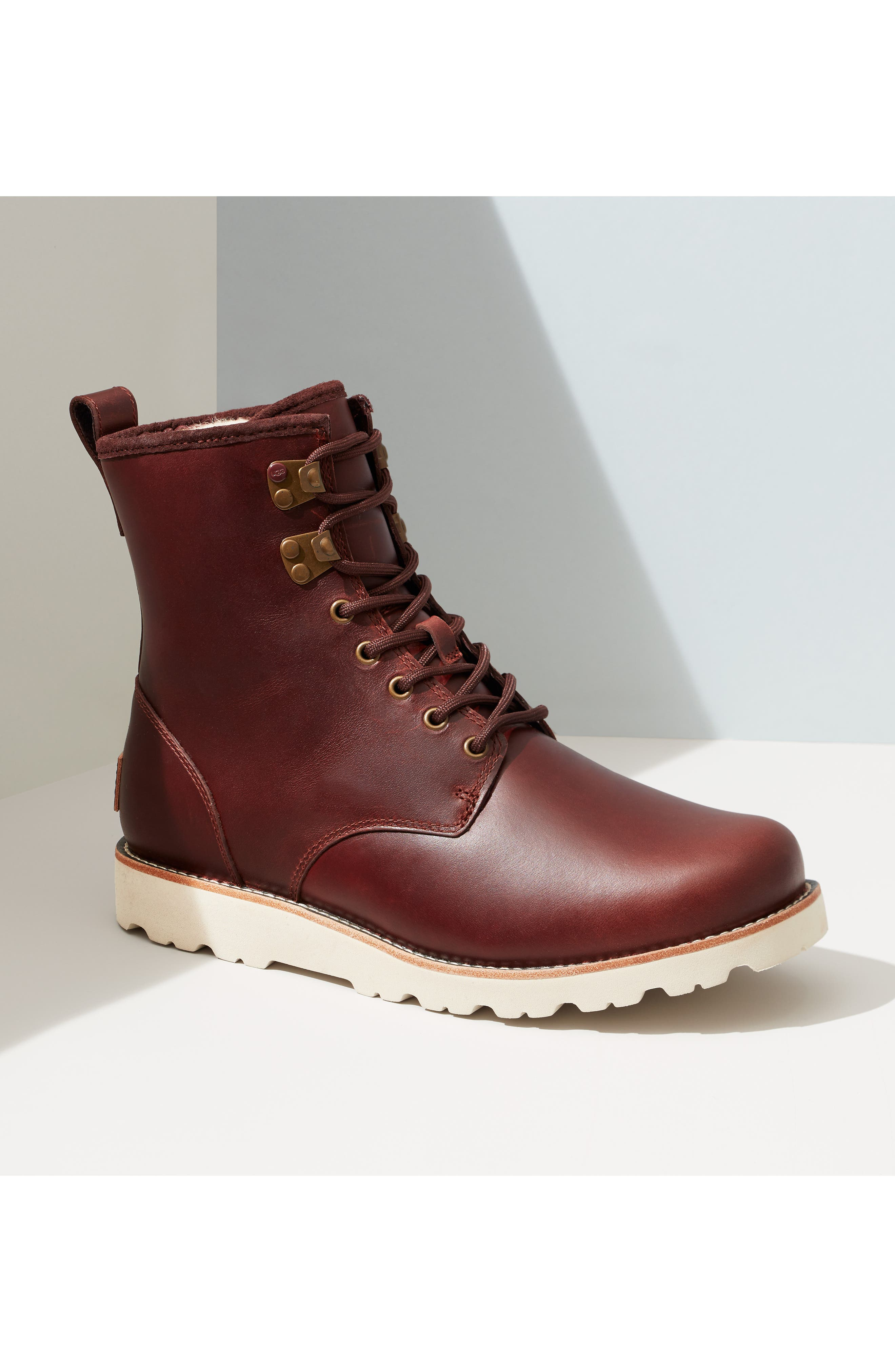 UGG<SUP>®</SUP>, Hannen Waterproof Boot, Alternate thumbnail 5, color, 604