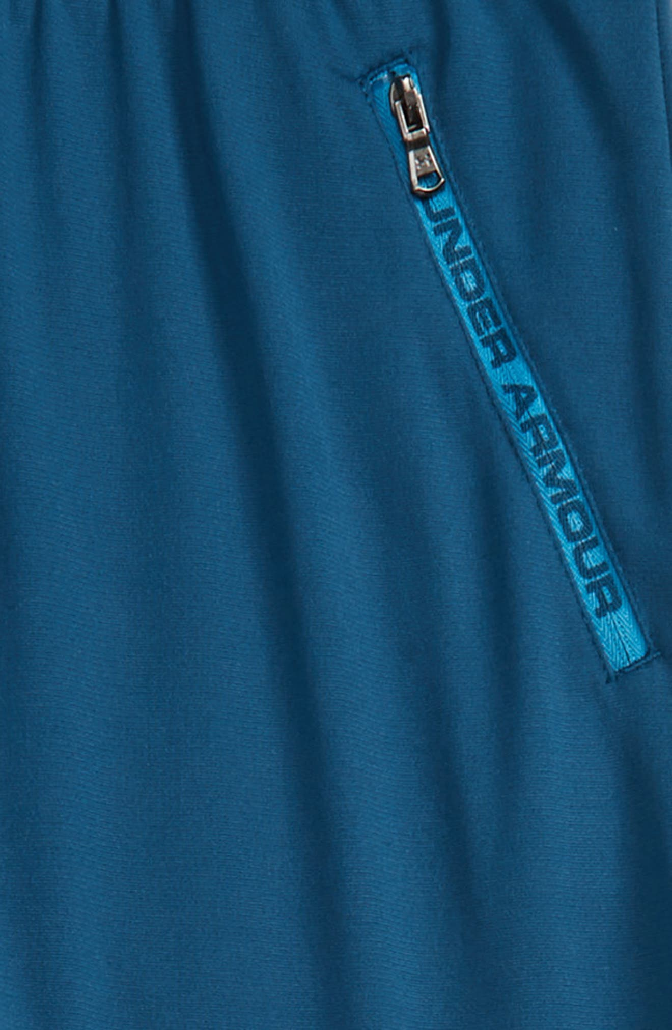 UNDER ARMOUR, Pennant Tapered Sweatpants, Alternate thumbnail 2, color, PETROL BLUE/ ETHER BLUE