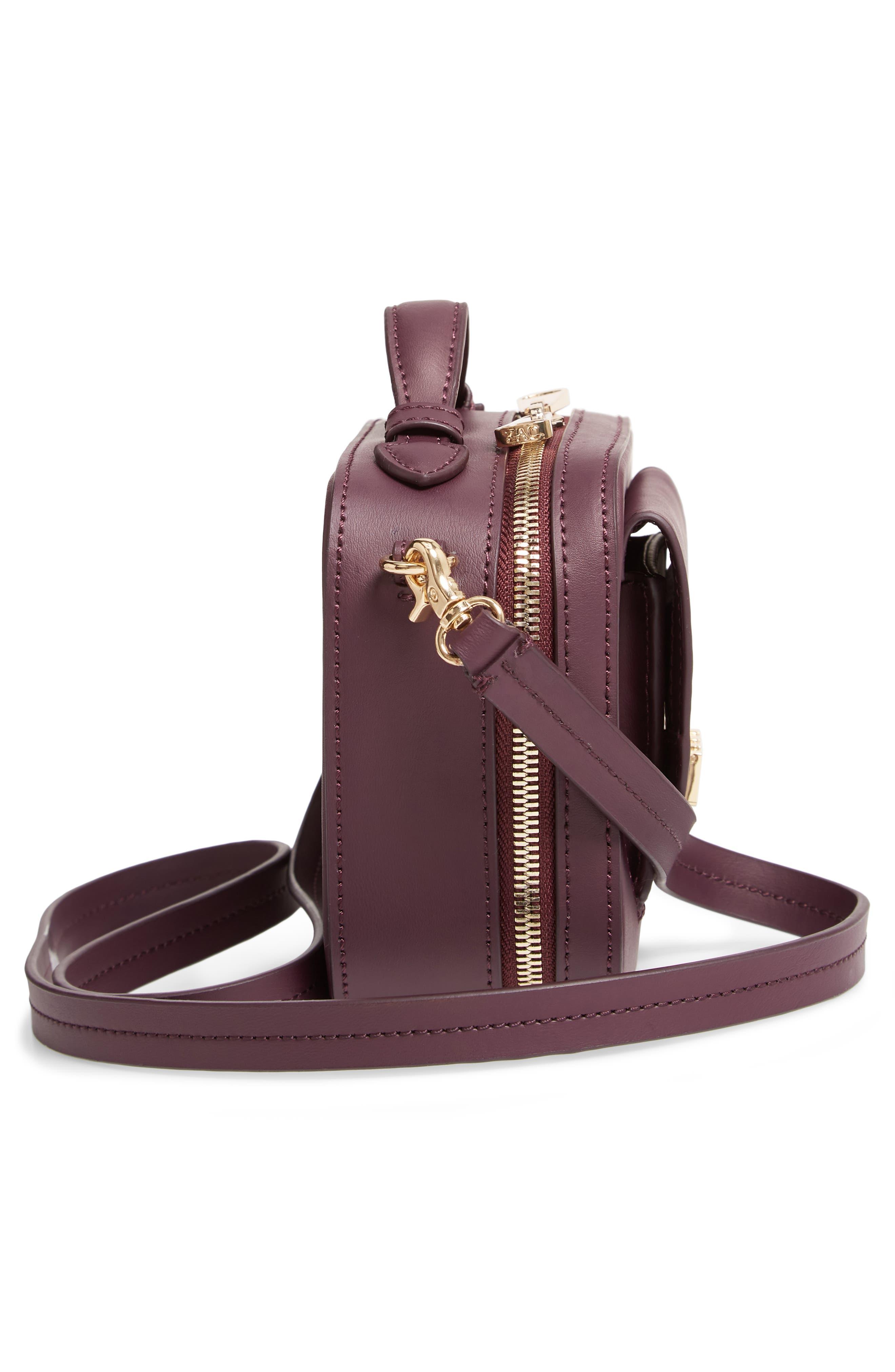 ZAC ZAC POSEN, Earthette Small Box Leather Crossbody Bag, Alternate thumbnail 5, color, 501