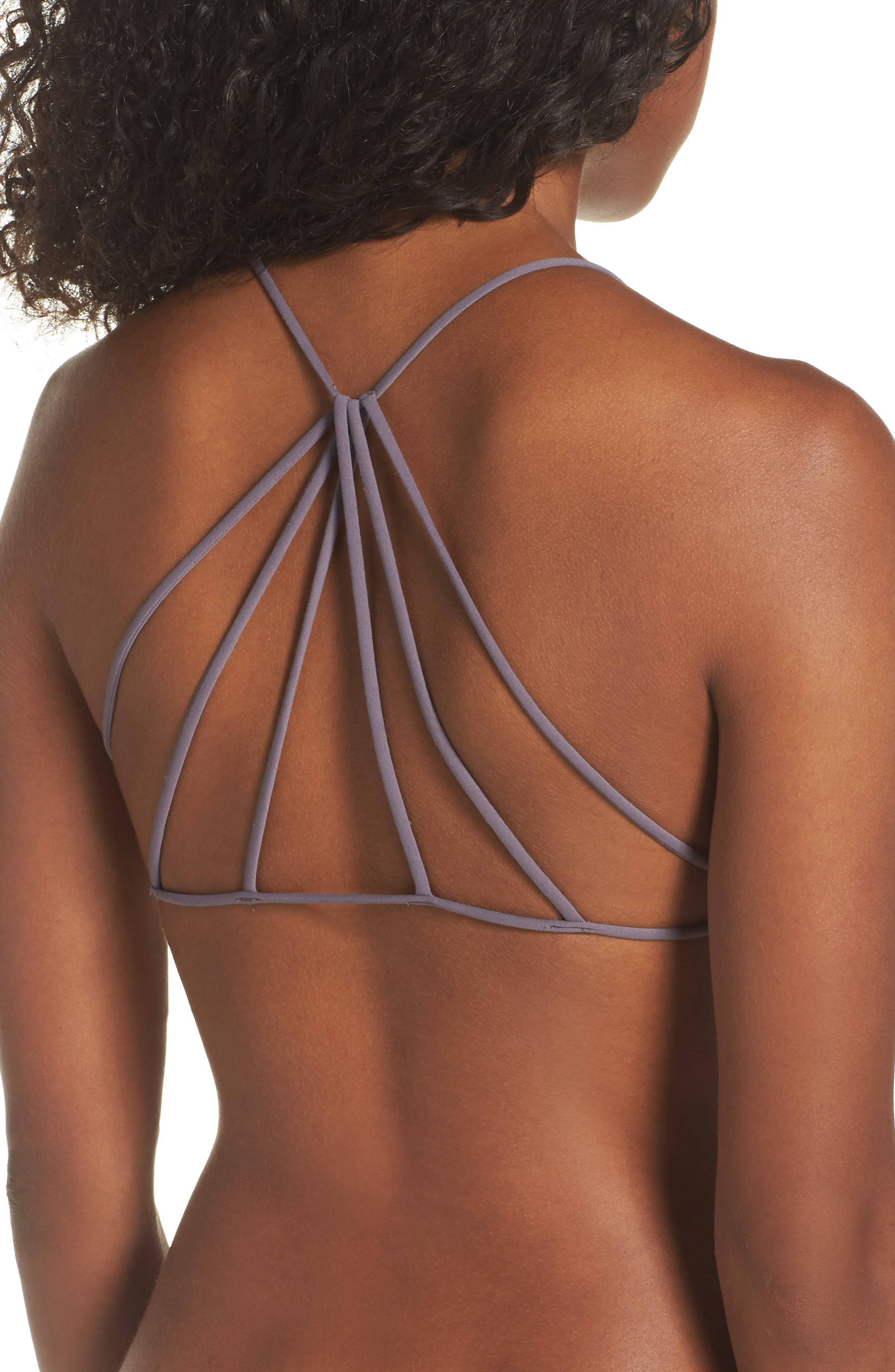 FREE PEOPLE, Intimately FP Seamless Strappy Back Bralette, Alternate thumbnail 2, color, 020