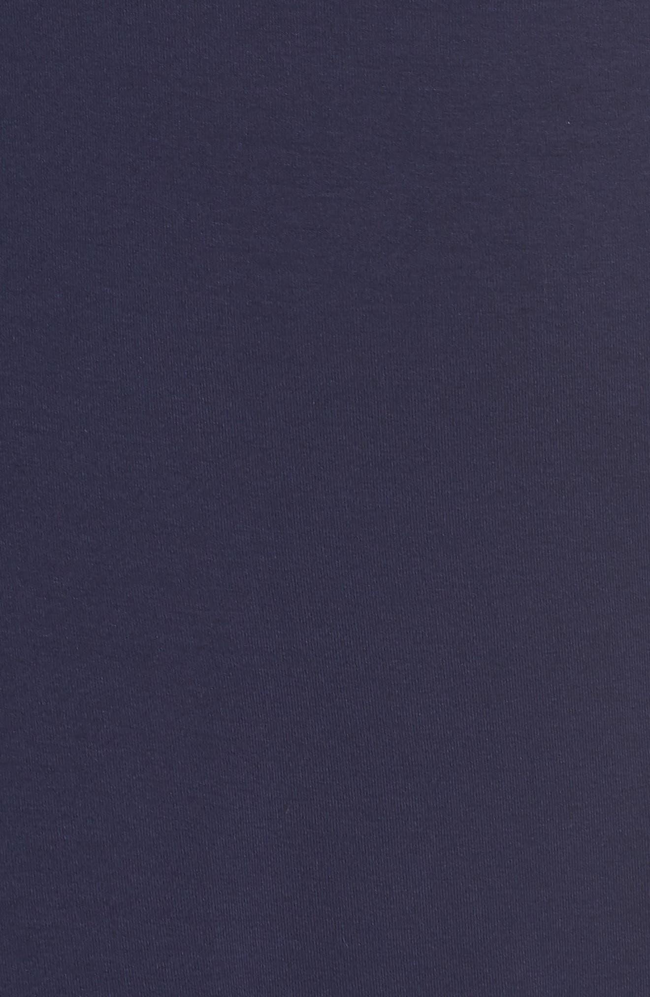 LILLY PULITZER<SUP>®</SUP>, Misha Wrap Dress, Alternate thumbnail 5, color, TRUE NAVY
