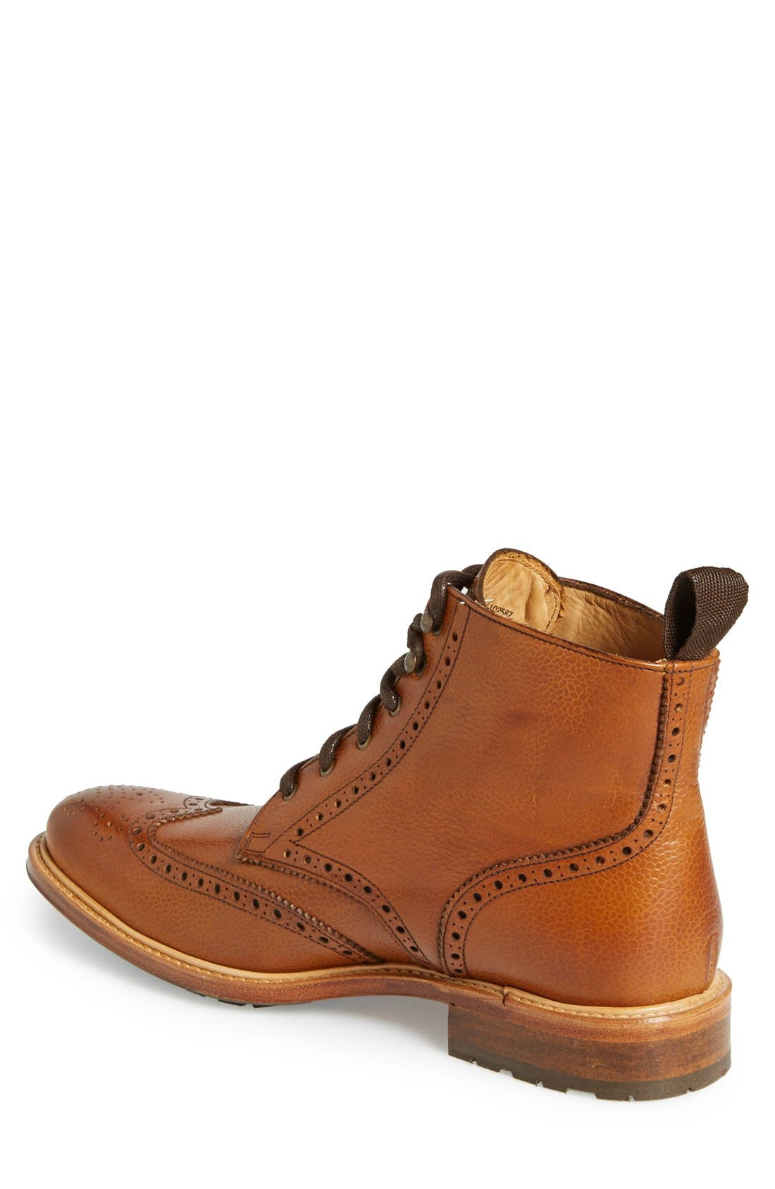 CROSBY SQUARE, 'McCormick' Wingtip Boot, Alternate thumbnail 2, color, 230