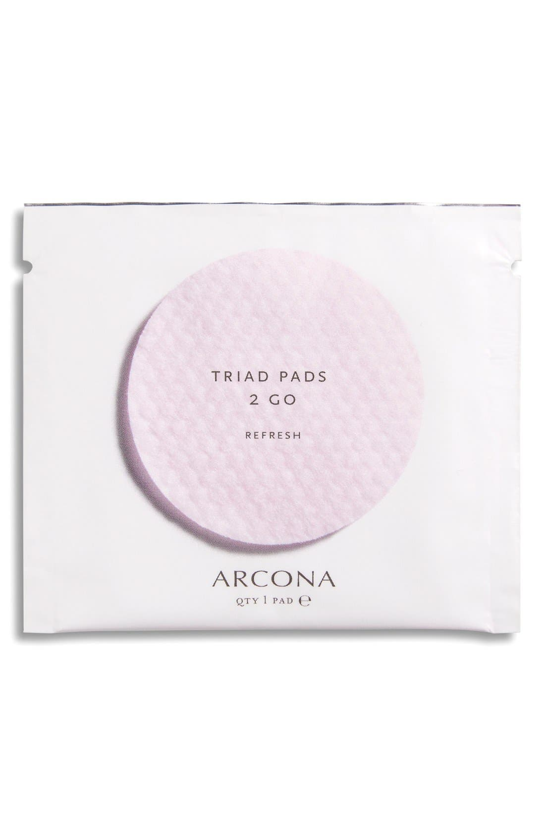 ARCONA, Triad Toner Pads, Alternate thumbnail 3, color, NO COLOR