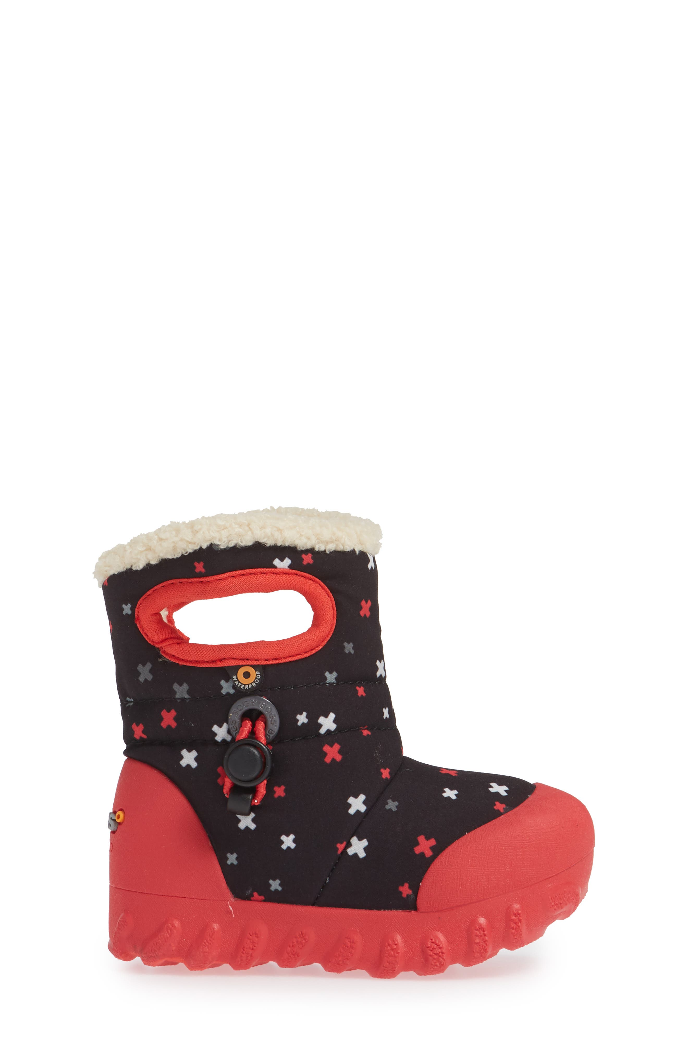 BOGS, B-MOC Plus Waterproof Insulated Faux Fur Boot, Alternate thumbnail 3, color, 009