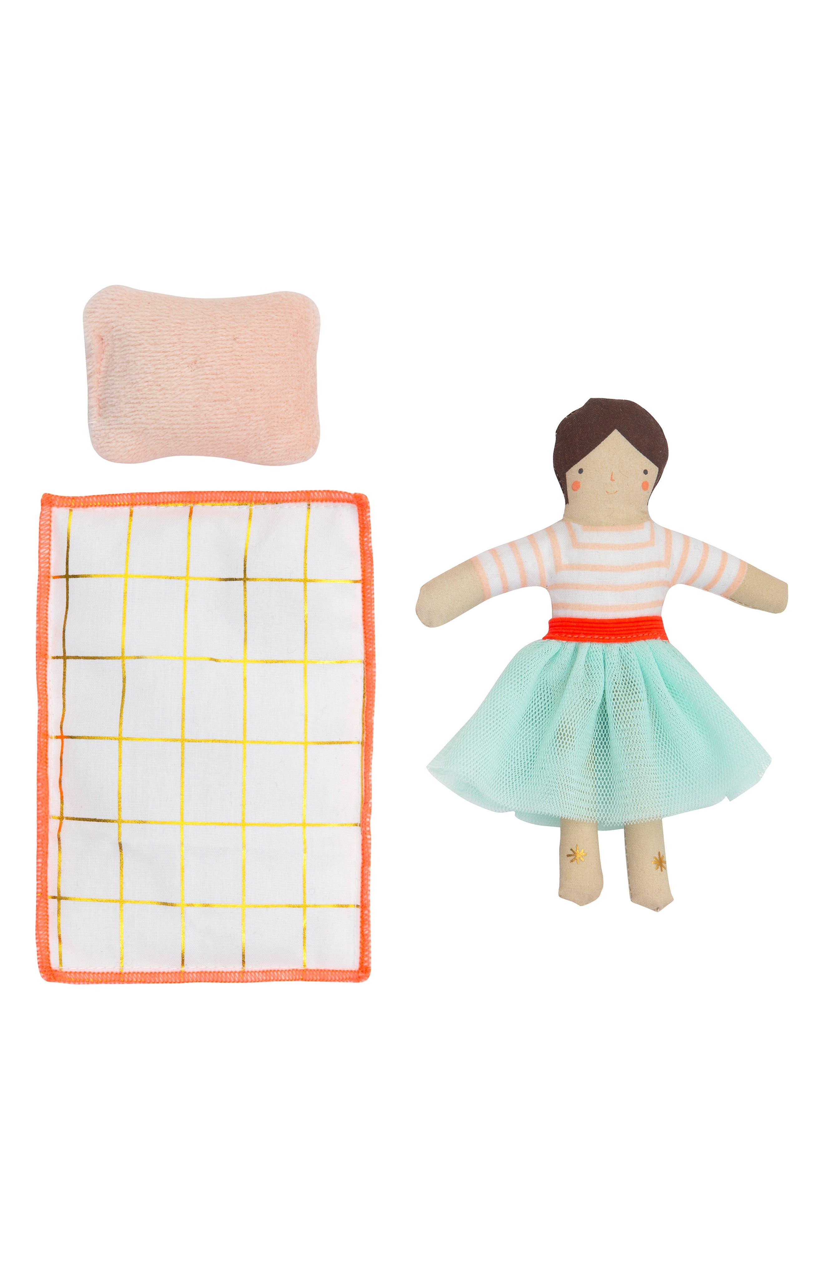 MERI MERI, Mini Lila Doll & Suitcase Set, Alternate thumbnail 4, color, 960