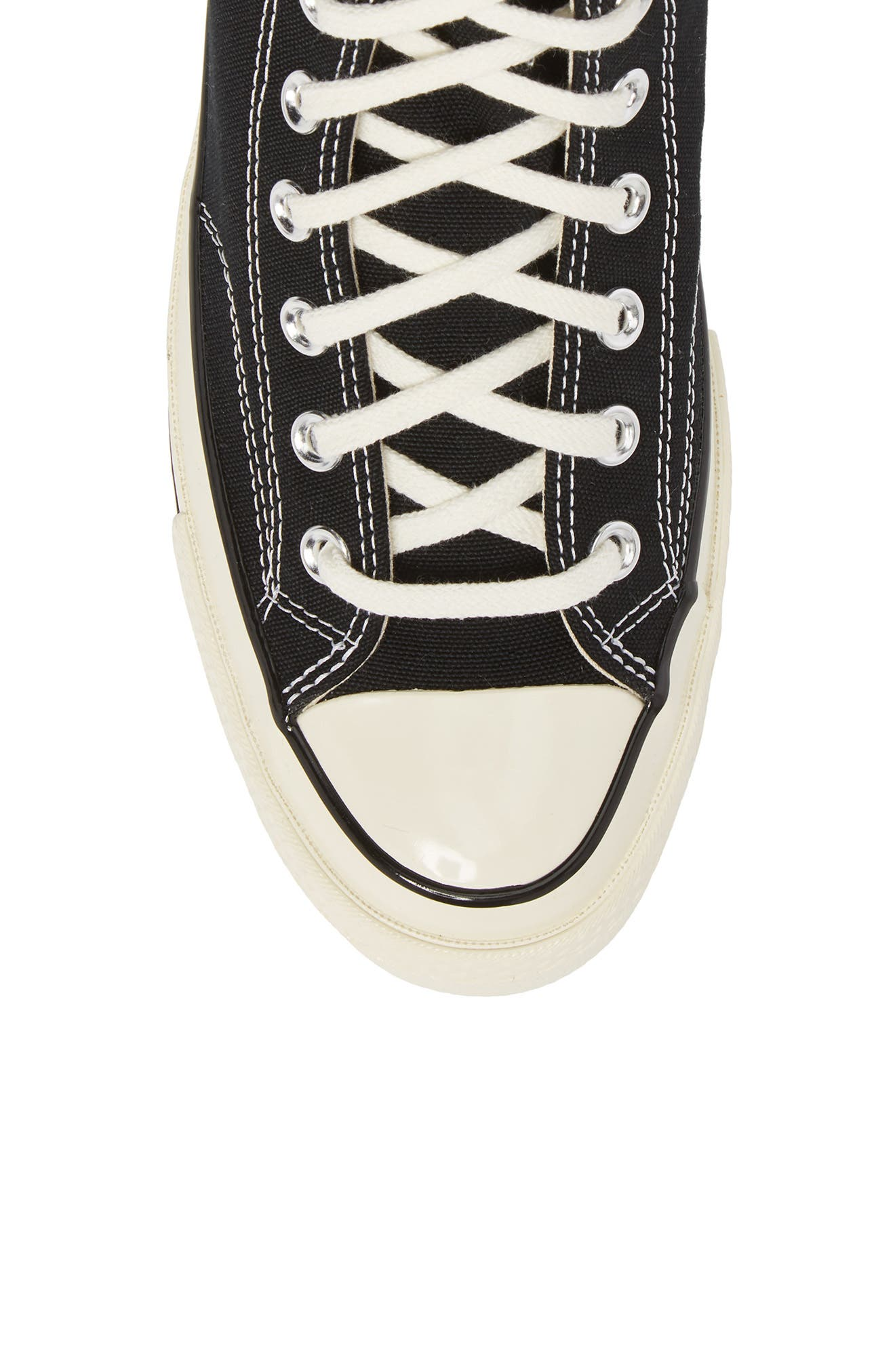 CONVERSE, Chuck Taylor<sup>®</sup> All Star<sup>®</sup> 70 High Top Sneaker, Alternate thumbnail 5, color, BLACK