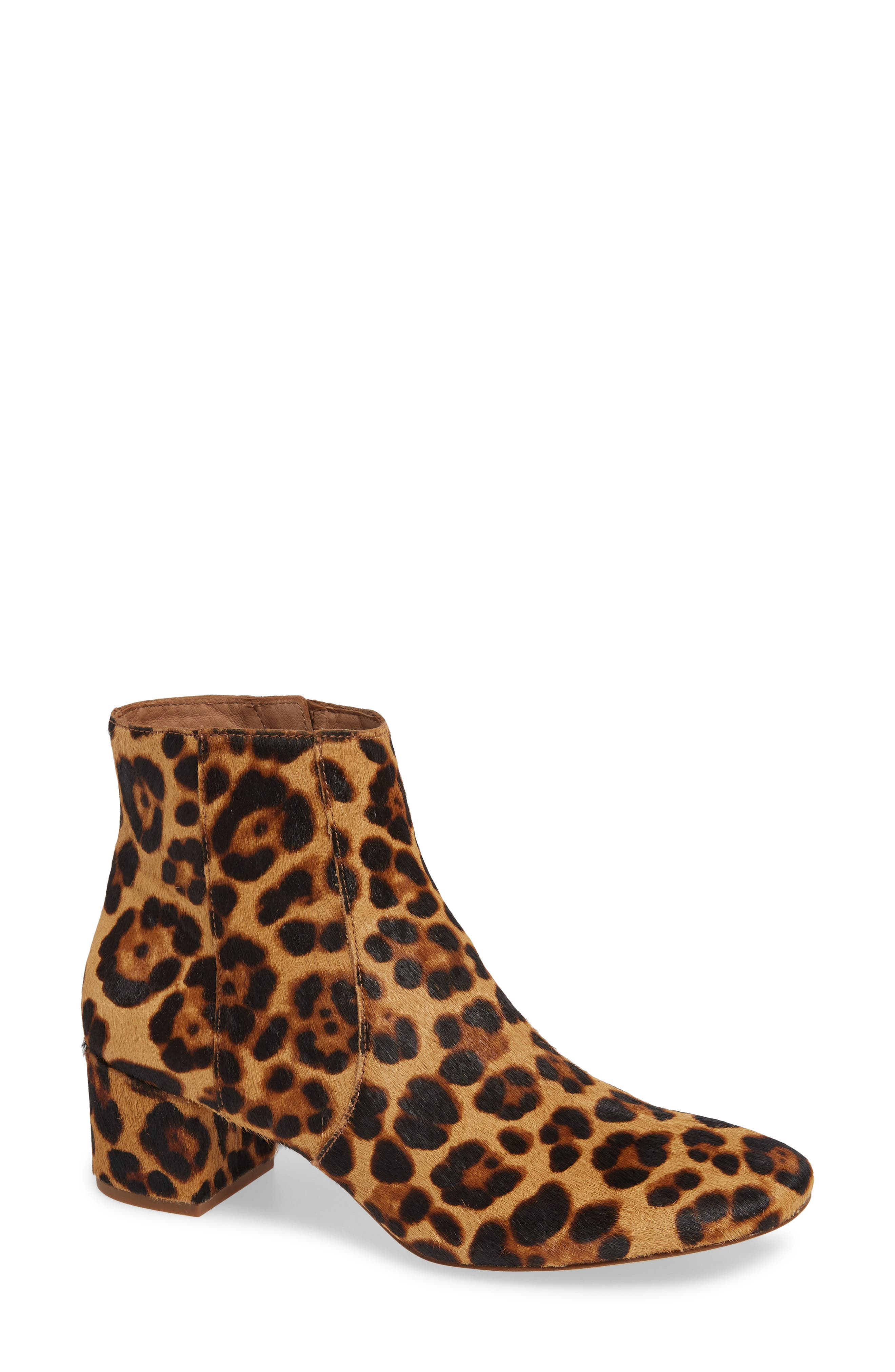 MADEWELL The Jada Genuine Calf Hair Boot, Main, color, 200