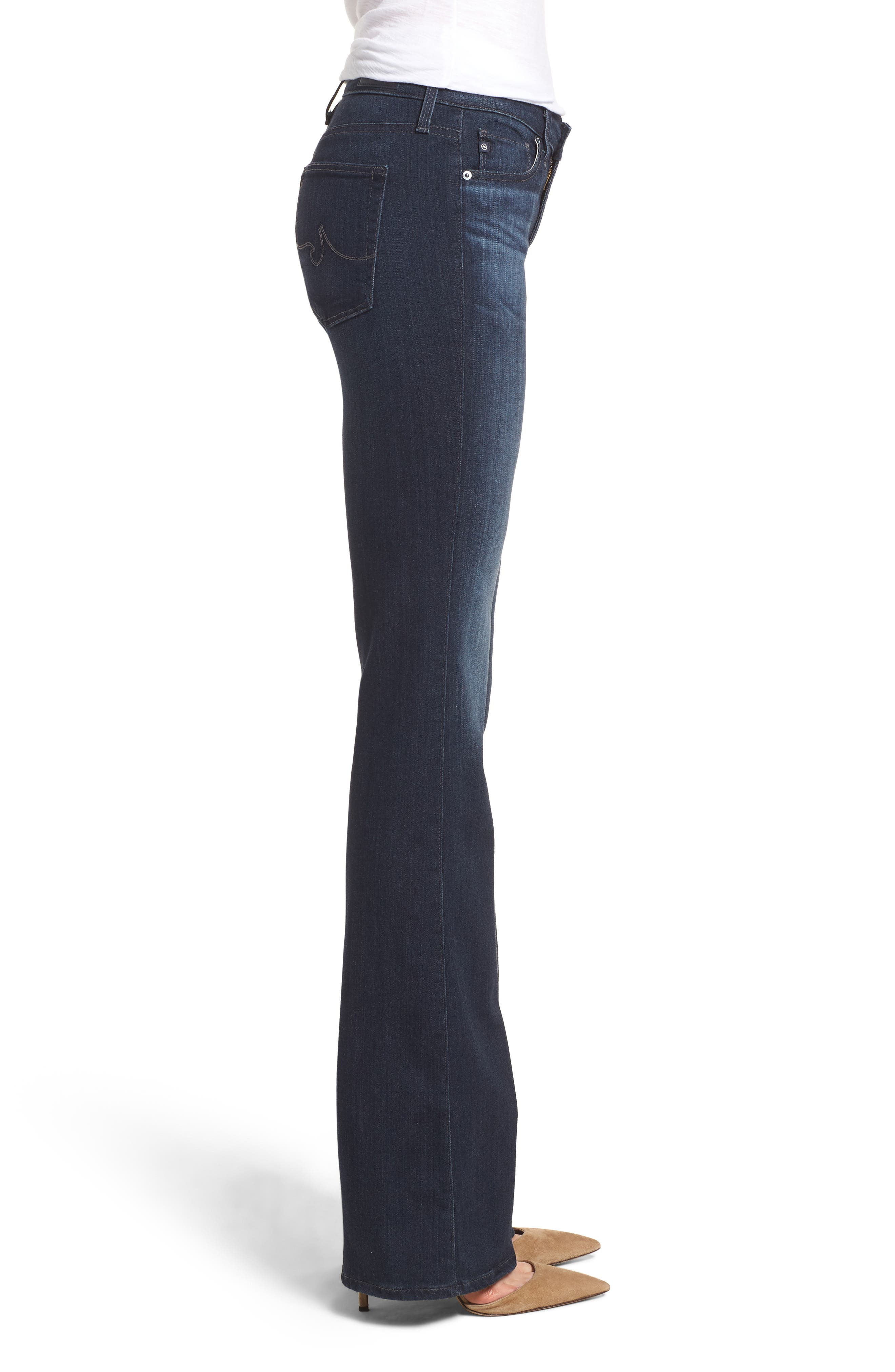 AG, 'The New Angel' Bootcut Jeans, Alternate thumbnail 4, color, BROOKS