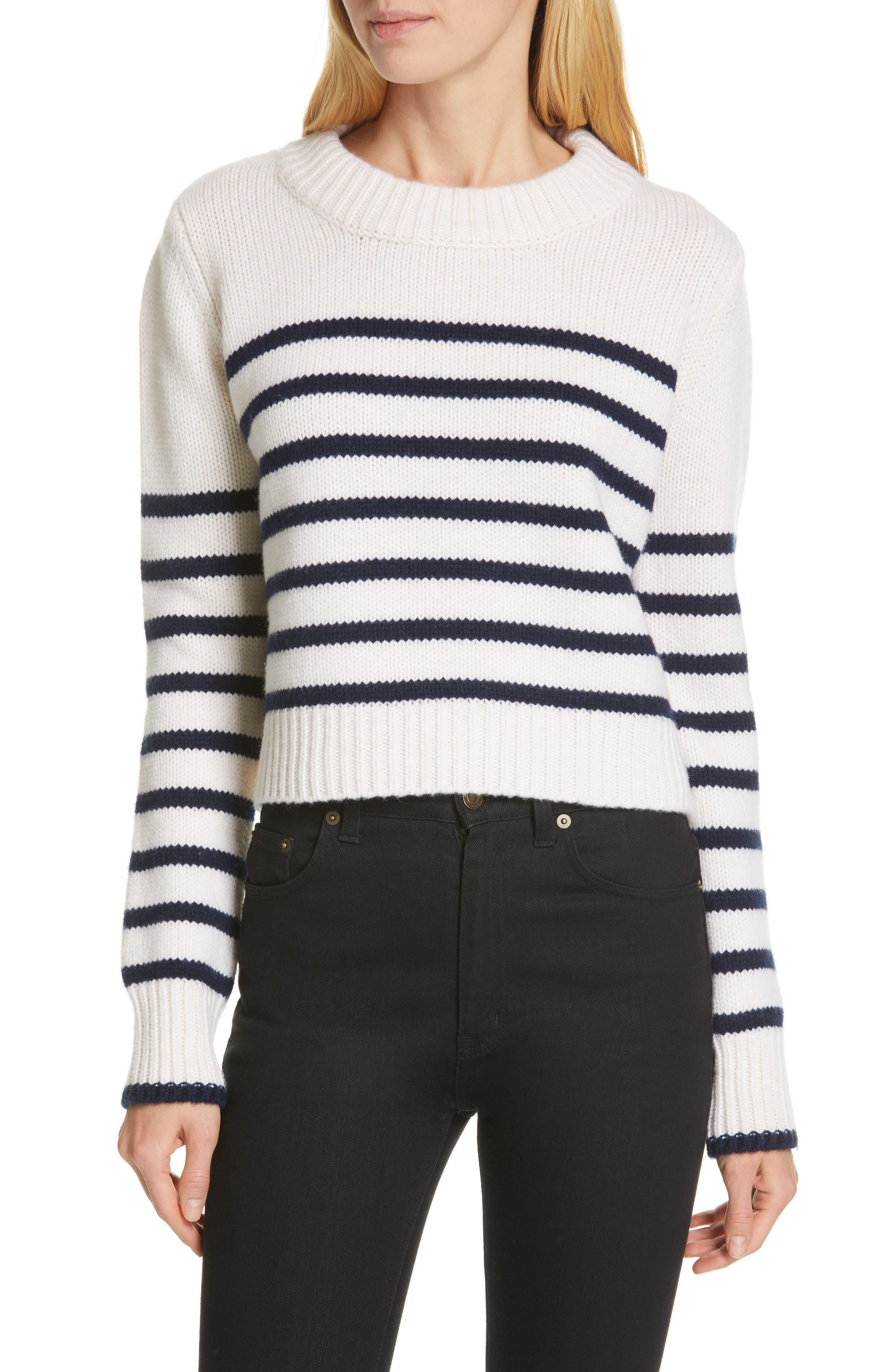 La Ligne Mini Maren Wool & Cashmere Sweater, Ivory