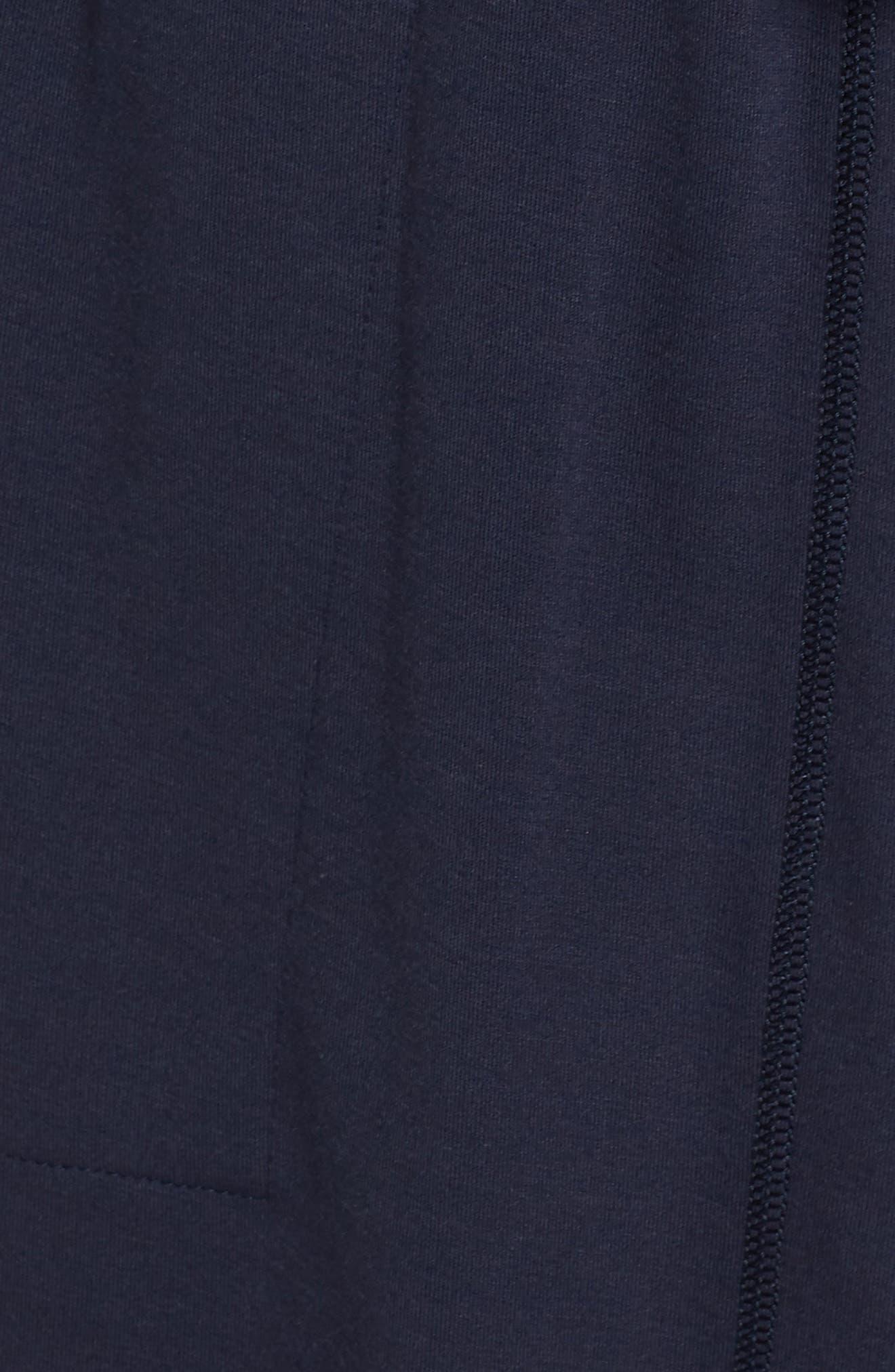 NATORI, Naya Short Robe, Alternate thumbnail 5, color, NIGHT BLUE