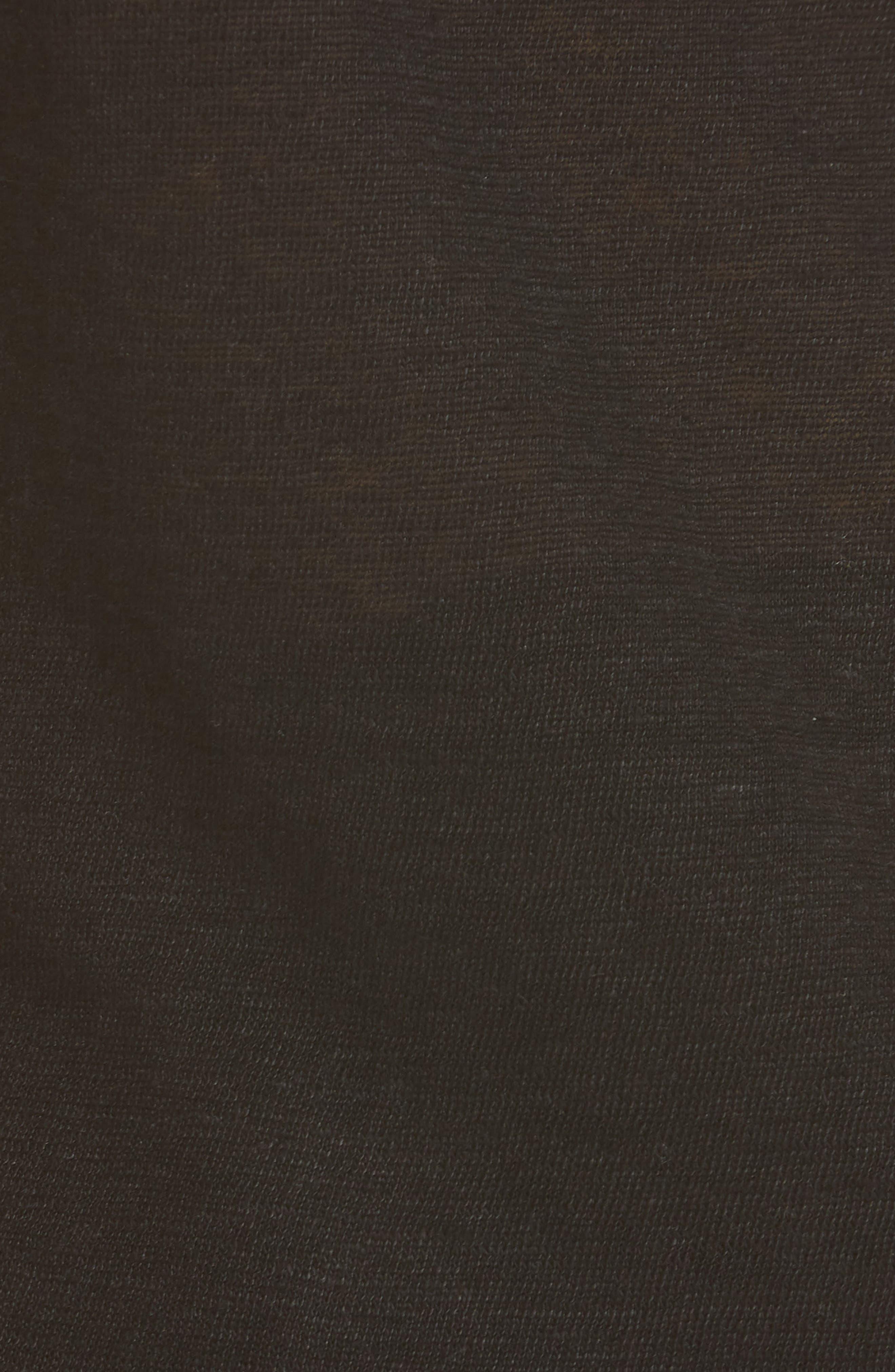 NILI LOTAN, Linen Sweater Tank, Alternate thumbnail 5, color, BLACK