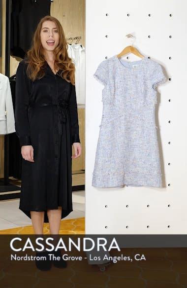 Sheath Tweed Sheath Dress, sales video thumbnail