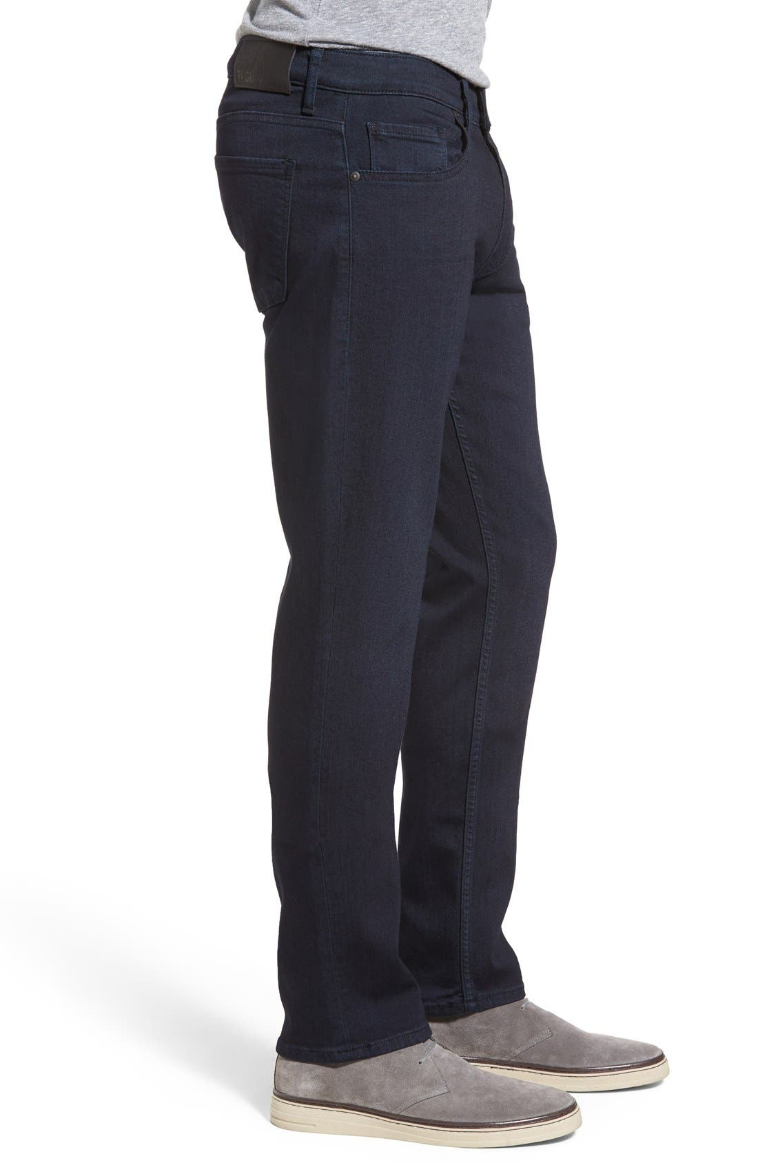 PAIGE, Transcend - Federal Slim Straight Leg Jeans, Alternate thumbnail 10, color, INKWELL