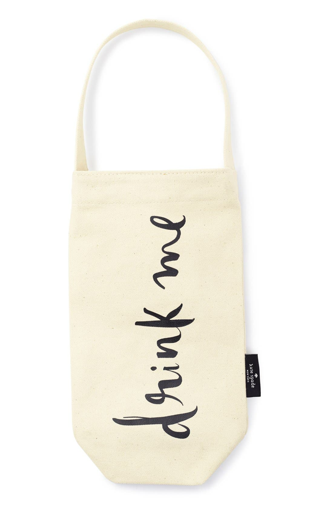 KATE SPADE NEW YORK, 'drink me' wine tote, Main thumbnail 1, color, 250