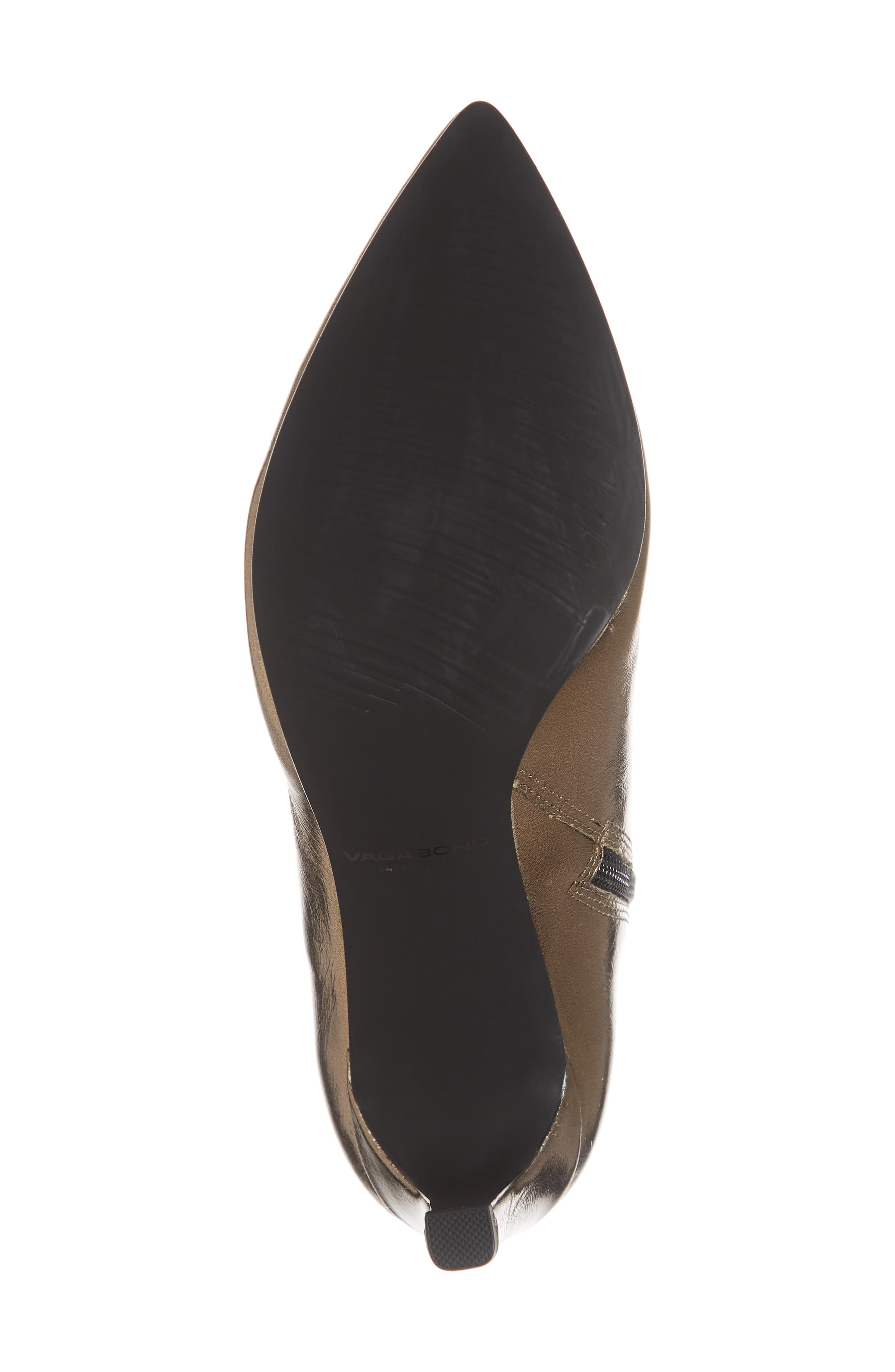 VAGABOND, Shoemakers Whitney Pointy Toe Bootie, Alternate thumbnail 6, color, BRONZE LEATHER