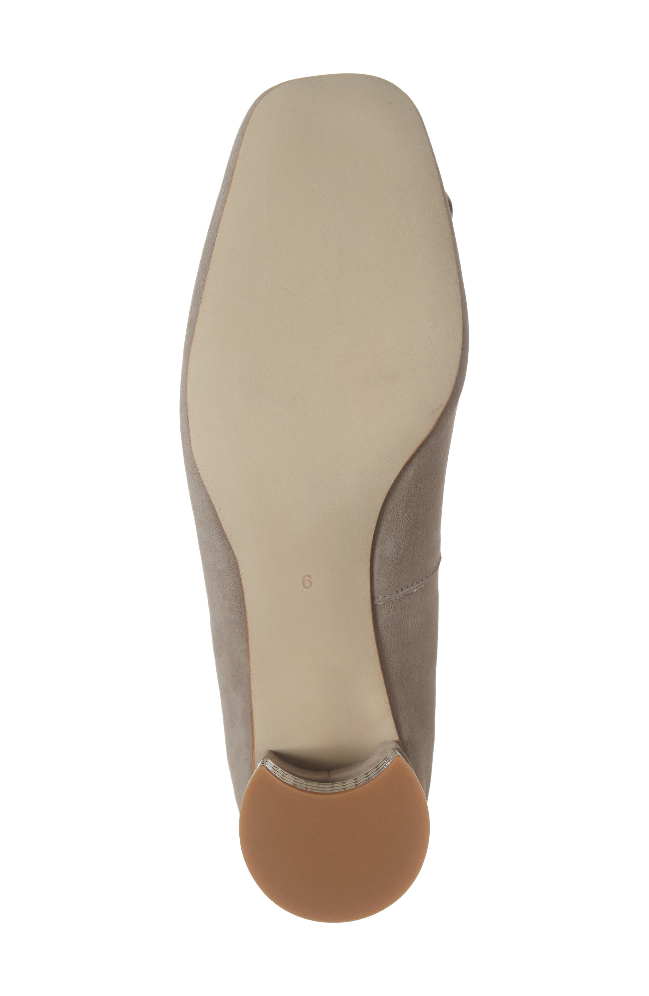 JEFFREY CAMPBELL, Carys Pump, Alternate thumbnail 6, color, TAUPE SUEDE