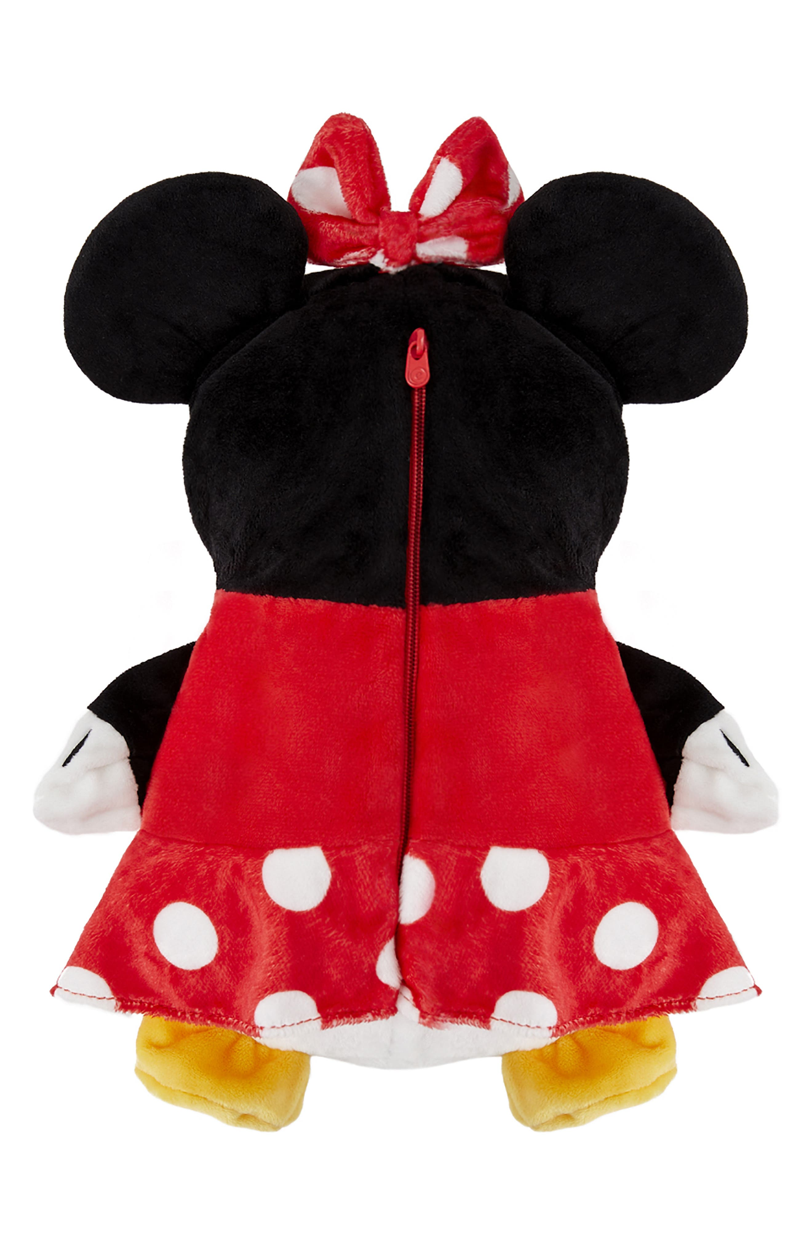 CUBCOATS, Disney Minnie Mouse 2-in-1 Stuffed Animal Hoodie, Alternate thumbnail 7, color, 001