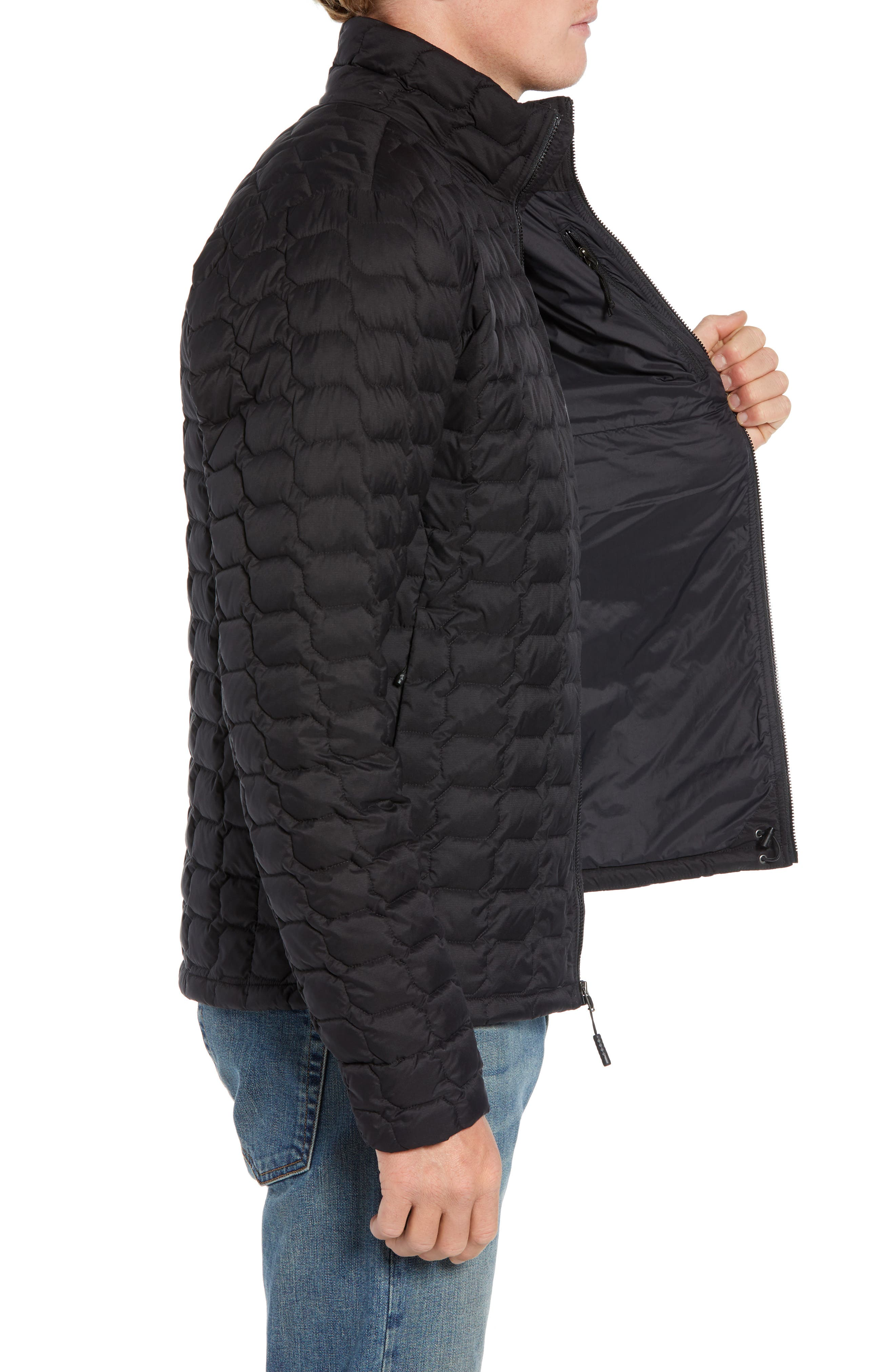 THE NORTH FACE, ThermoBall<sup>™</sup> Jacket, Alternate thumbnail 4, color, 001