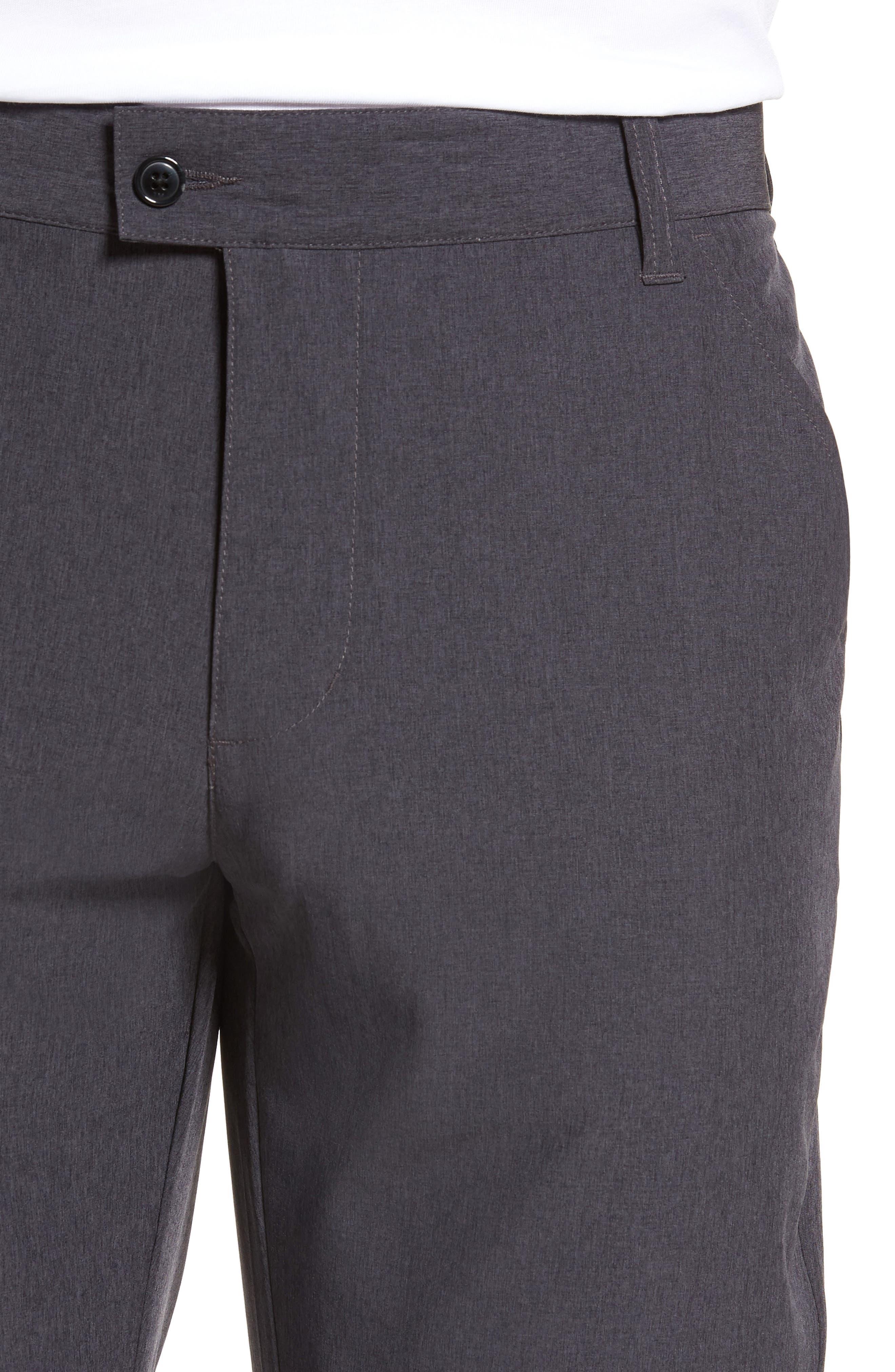 TRAVISMATHEW, Pantladdium Pants, Alternate thumbnail 4, color, HEATHER BLACK