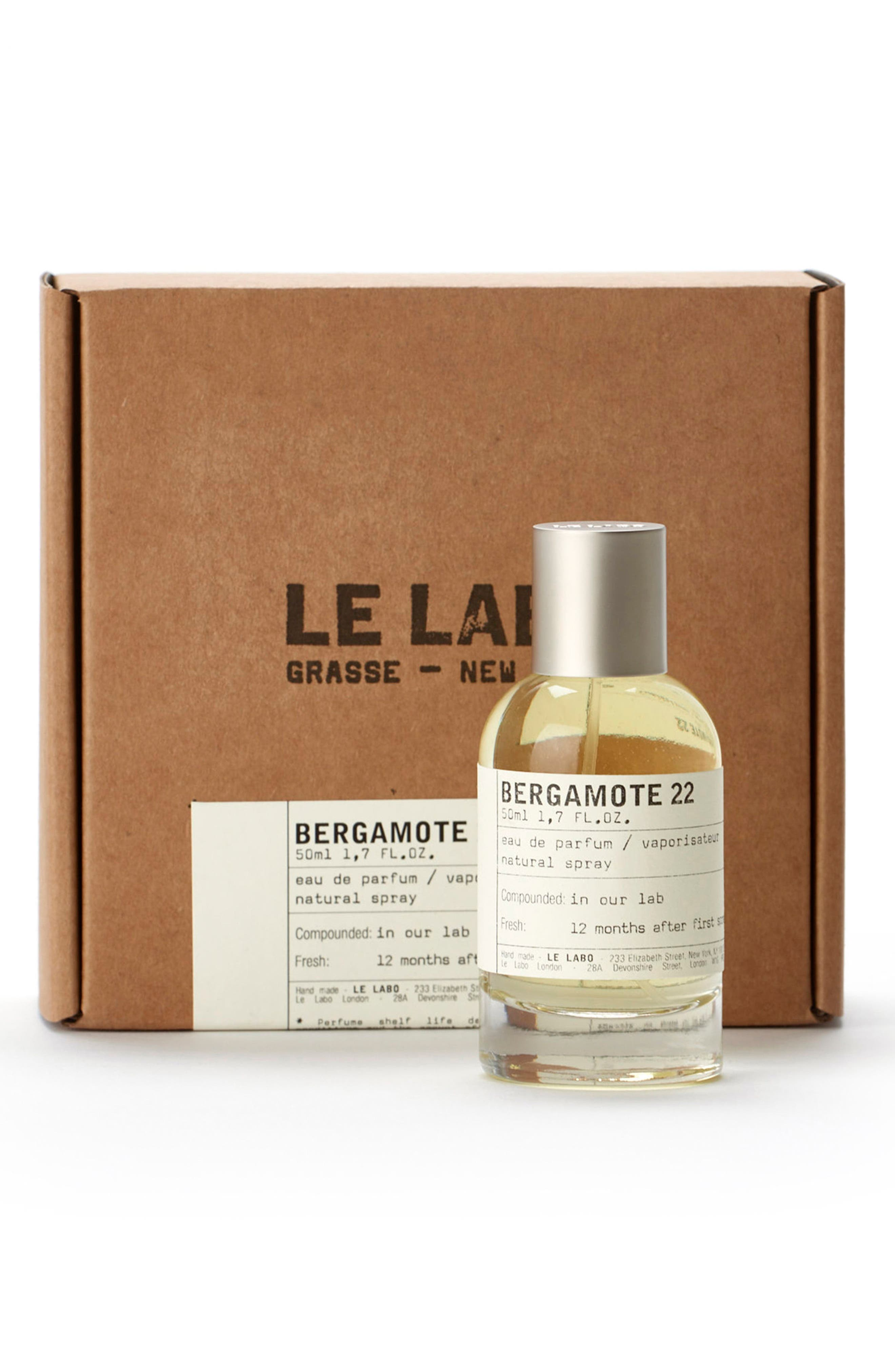 LE LABO, 'Bergamote 22' Eau de Parfum, Alternate thumbnail 5, color, NO COLOR