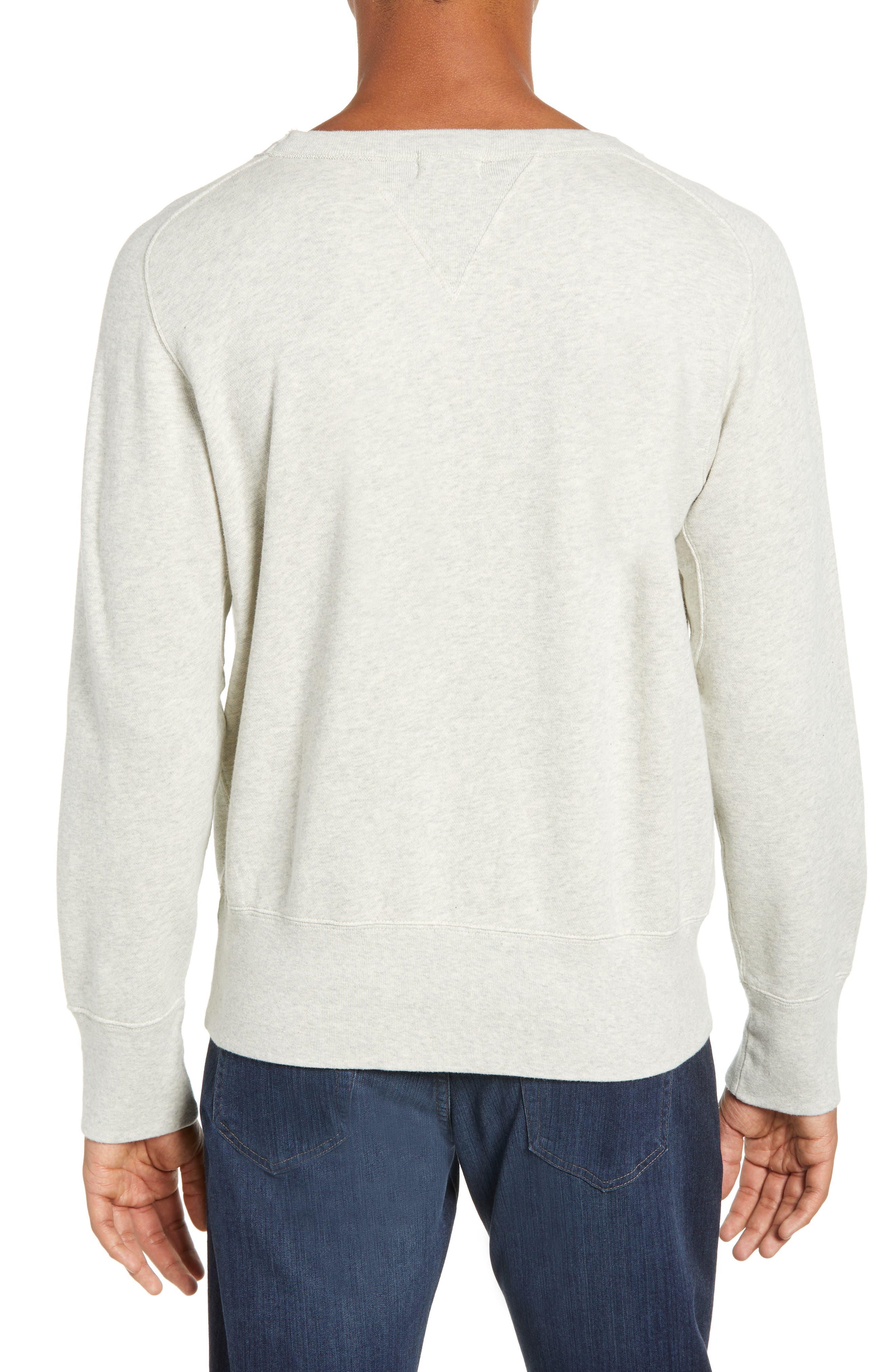 LEVI'S<SUP>®</SUP> VINTAGE CLOTHING, 1930s Bay Meadows Sweatshirt, Alternate thumbnail 2, color, OATMEAL