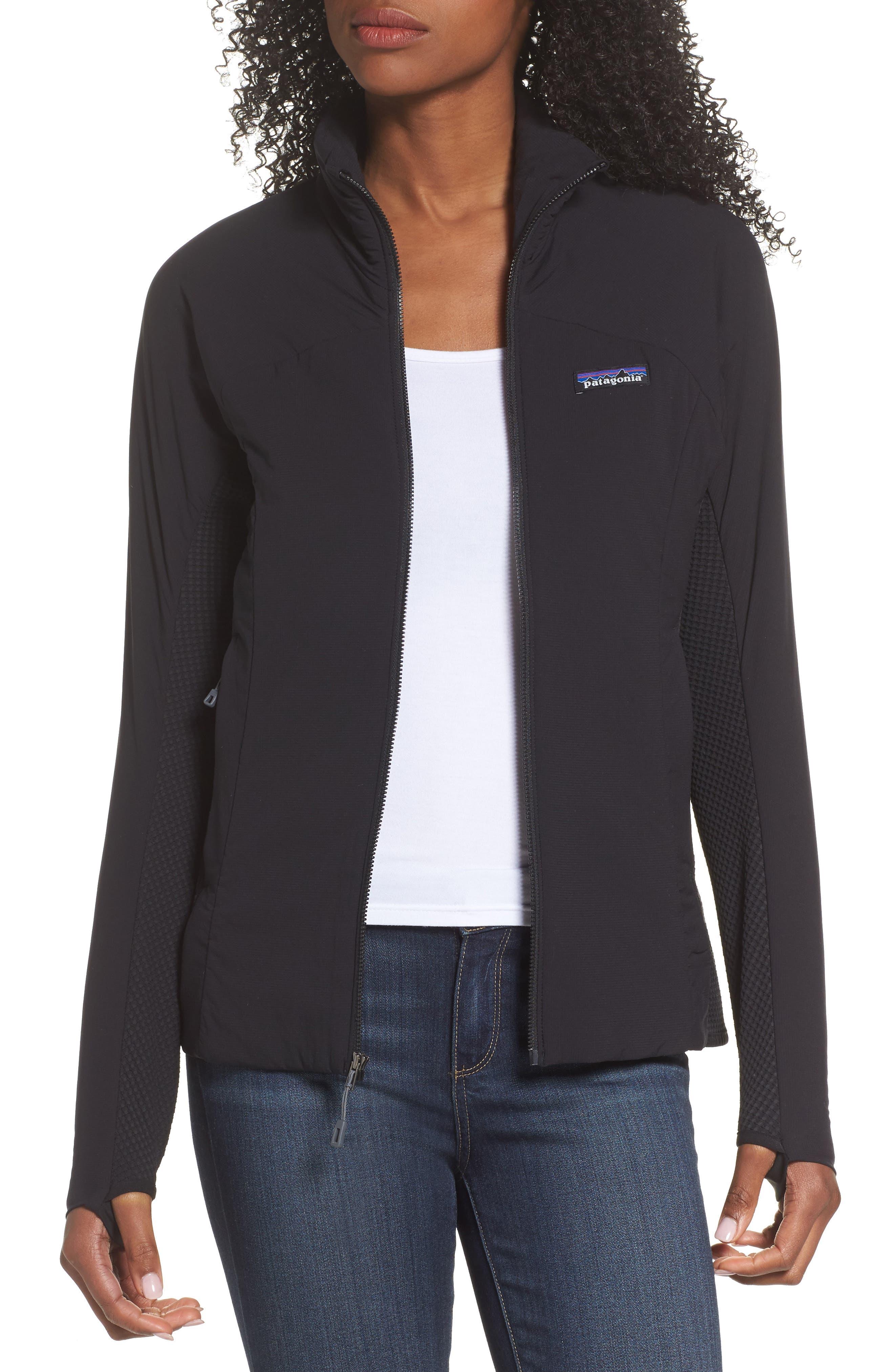 PATAGONIA Nano-Air<sup>®</sup> Light Hybrid Jacket, Main, color, BLACK