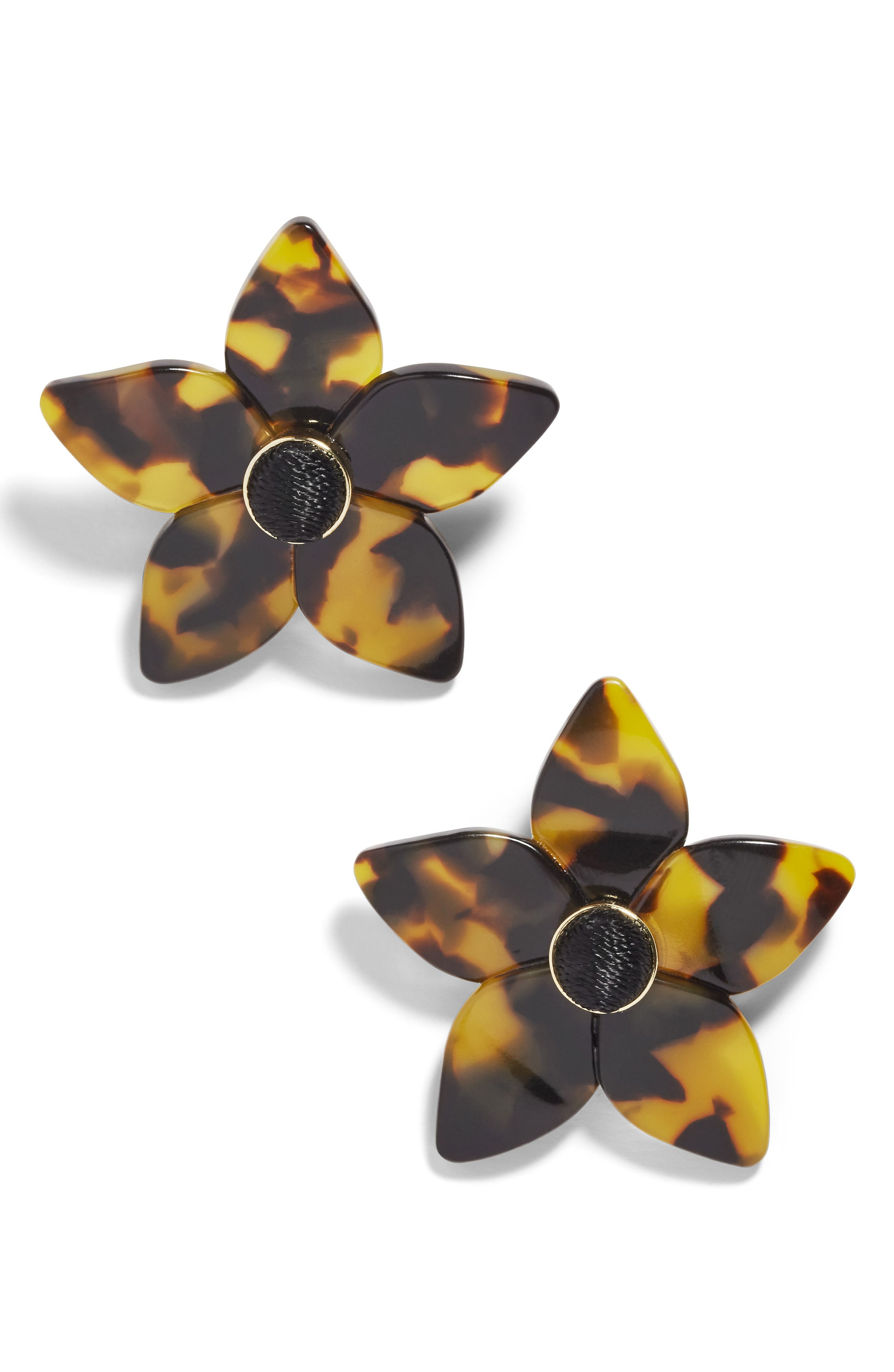 BAUBLEBAR Ashaya Resin Flower Earrings, Main, color, 200