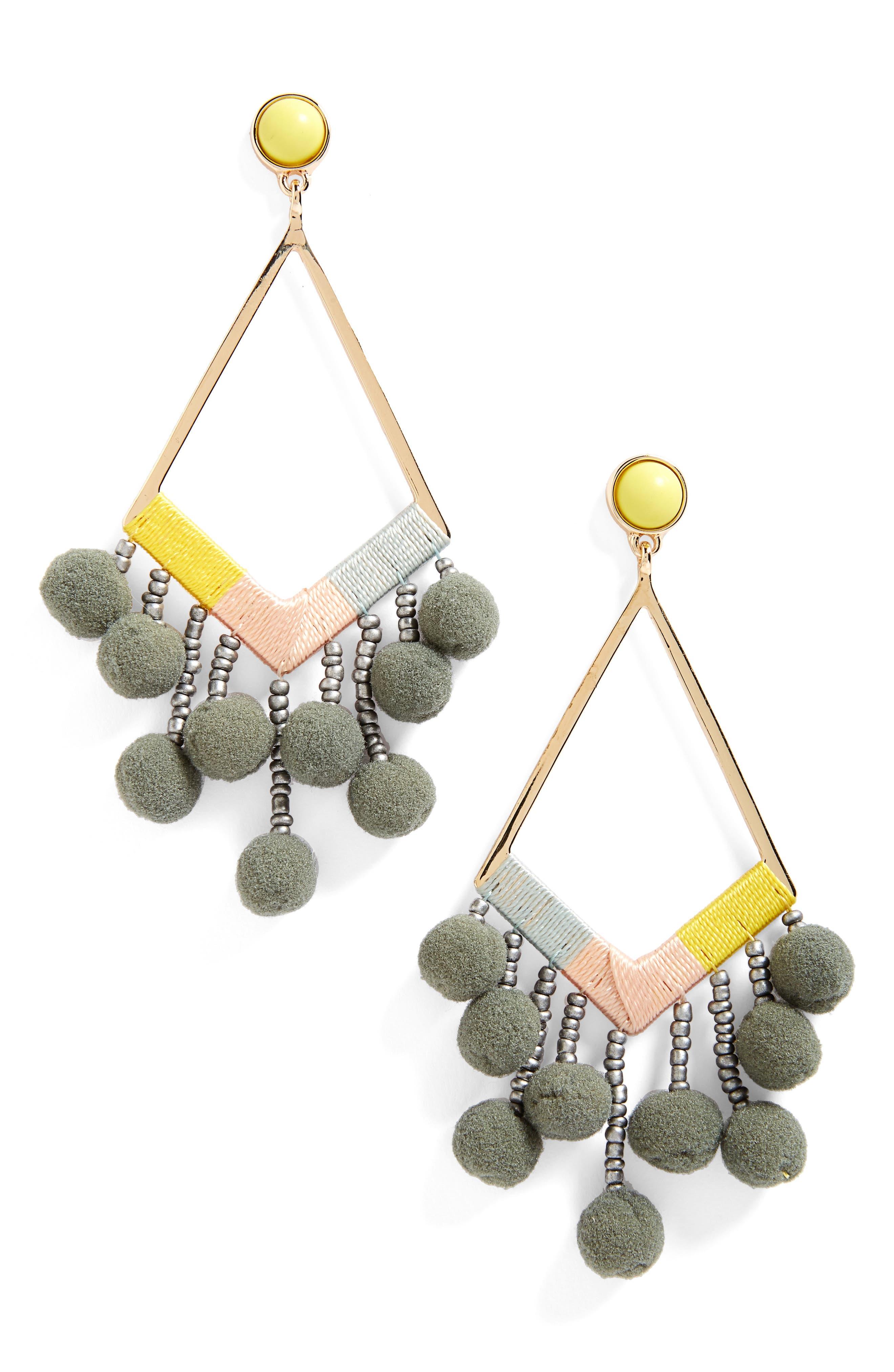 BAUBLEBAR Geo Drop Earrings, Main, color, 021