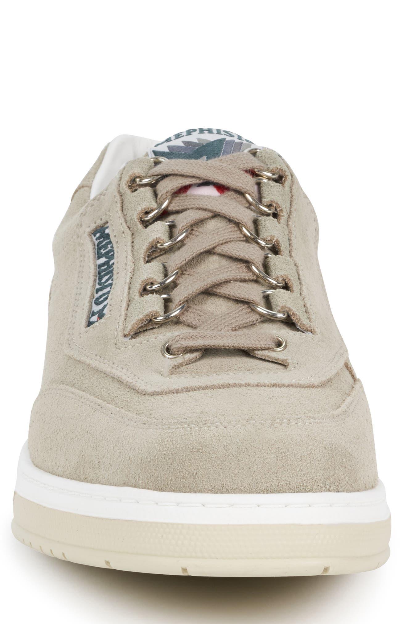 MEPHISTO, 'Match' Walking Shoe, Alternate thumbnail 4, color, CAMEL