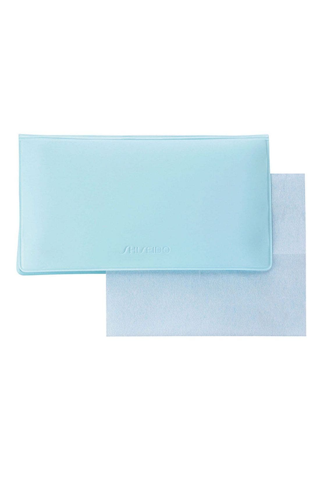 SHISEIDO 'Pureness' Oil-Control Blotting Paper, Main, color, 000