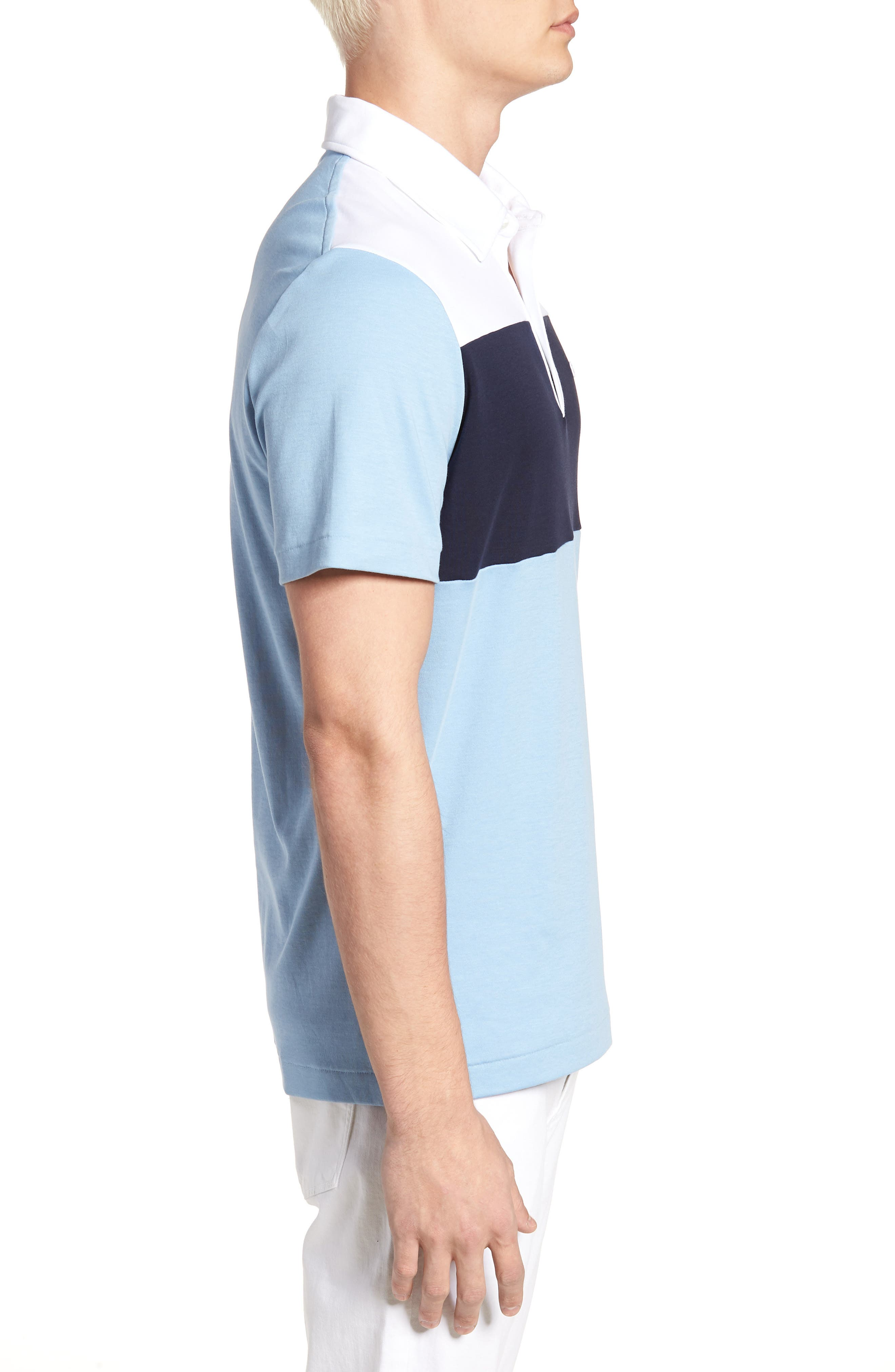 LACOSTE, 85th Anniversary Polo, Alternate thumbnail 3, color, 400