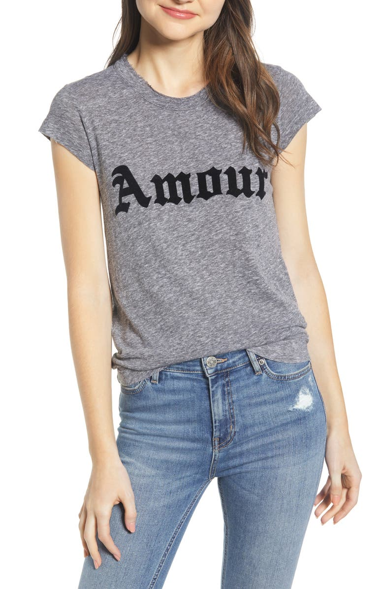 Zadig & Voltaire Tops AMOUR SKINNY TEE