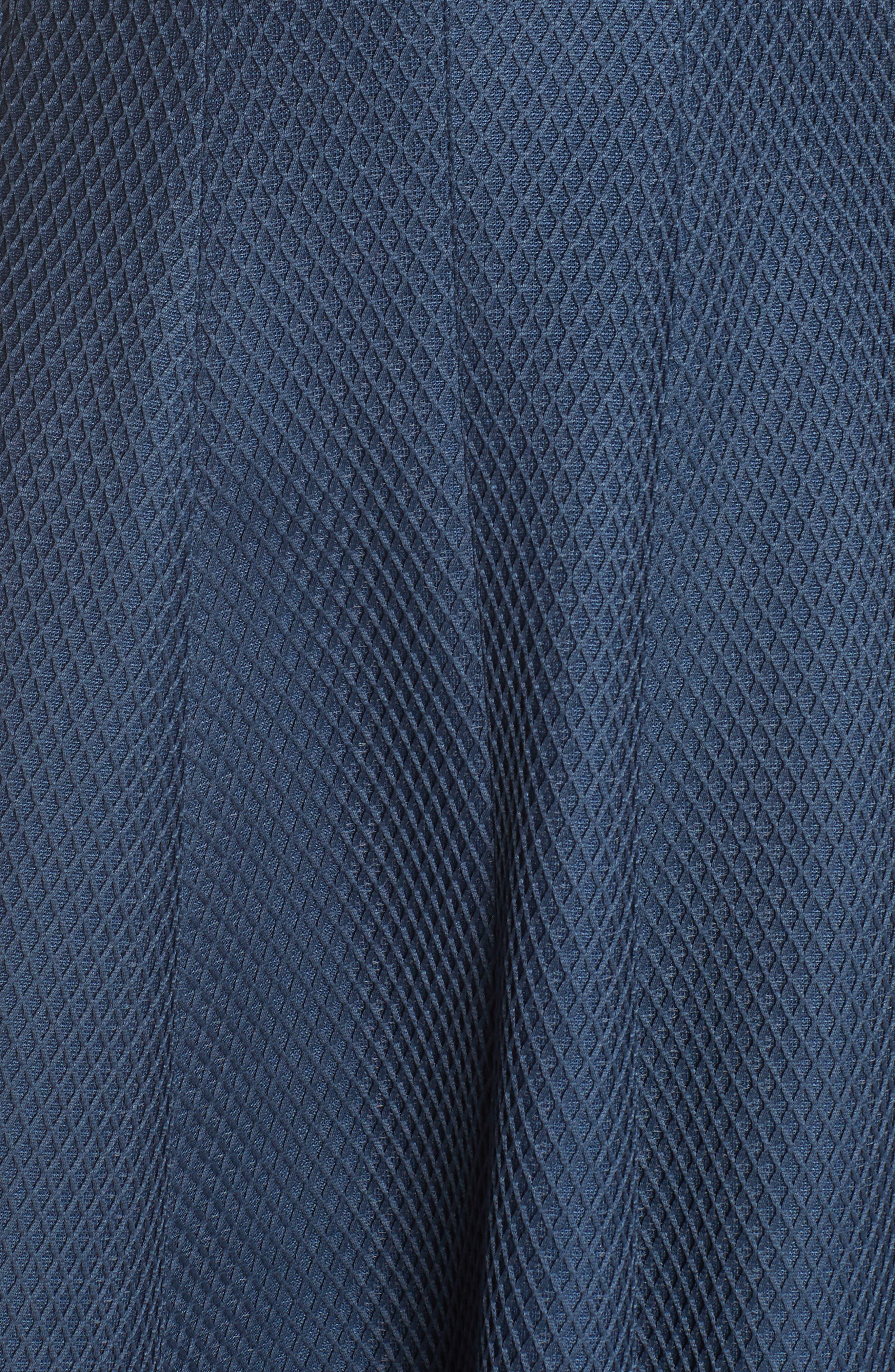 JULIA JORDAN, Fit & Flare Dress, Alternate thumbnail 6, color, 445