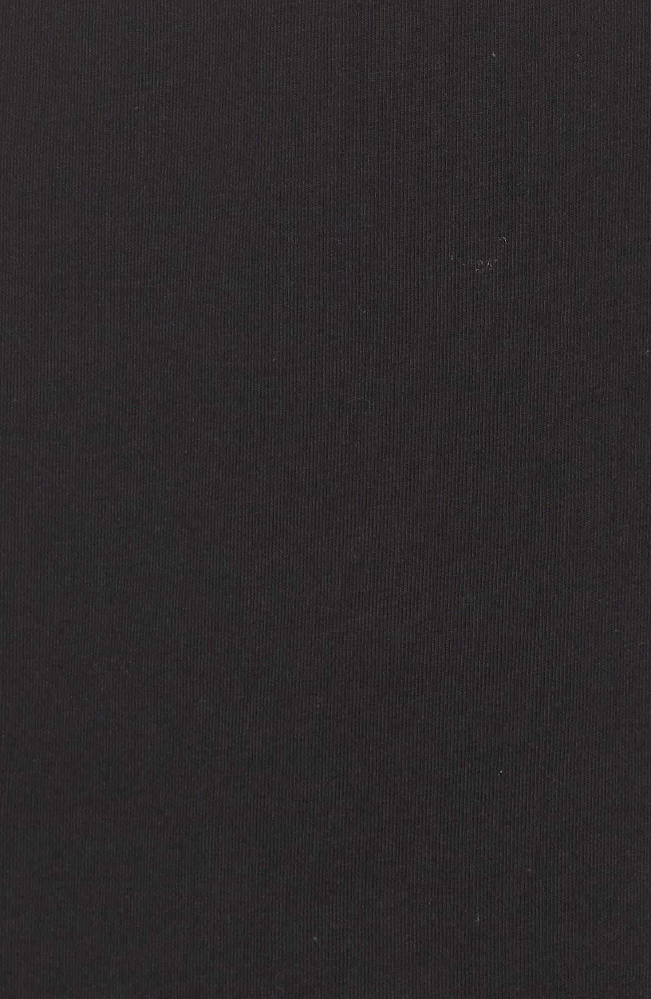 ADIDAS ORIGINALS, Trefoil Tank, Alternate thumbnail 6, color, BLACK