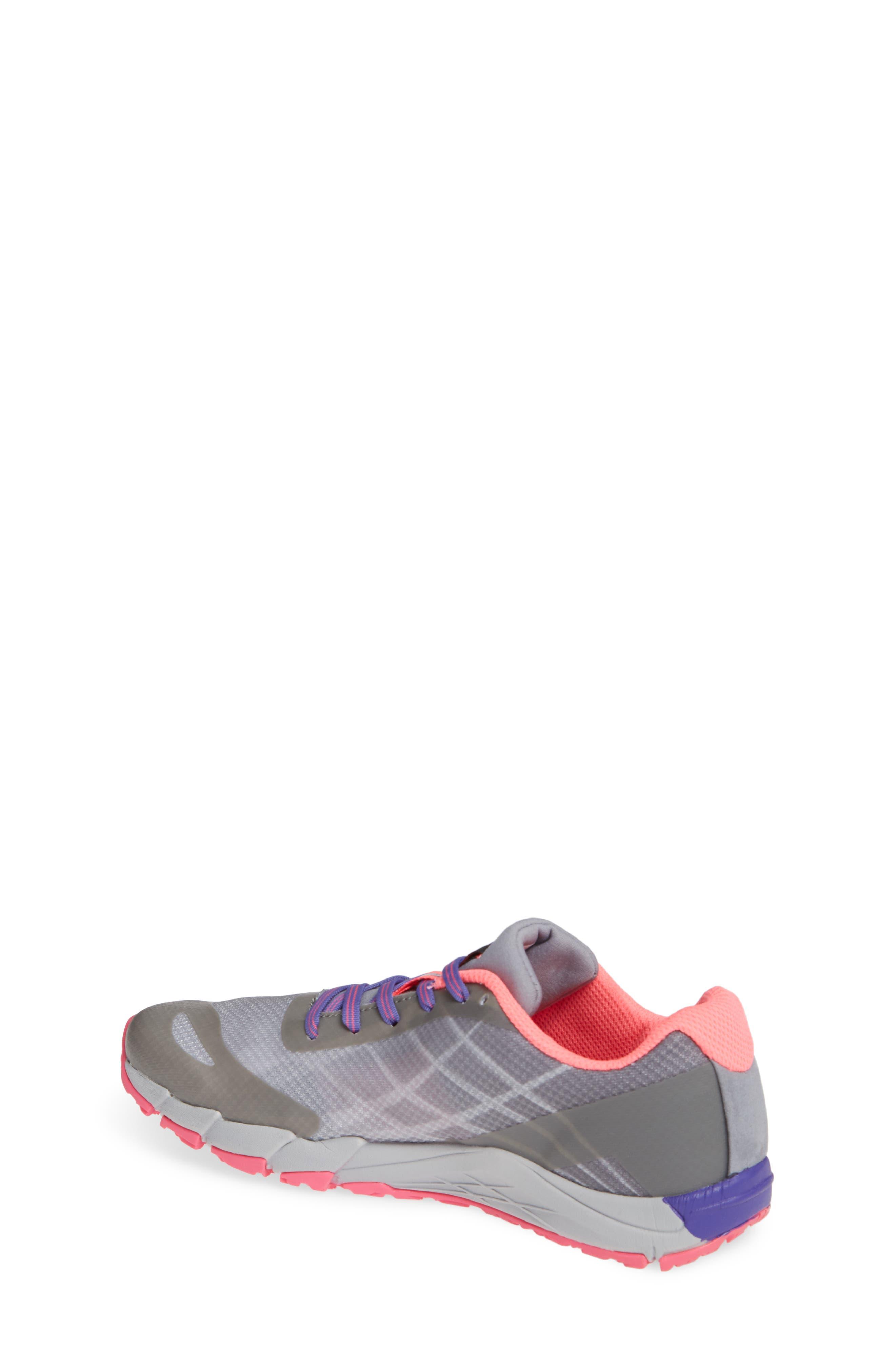 MERRELL, Bare Access Sneaker, Alternate thumbnail 2, color, GREY/ MULTI SYNTHETIC