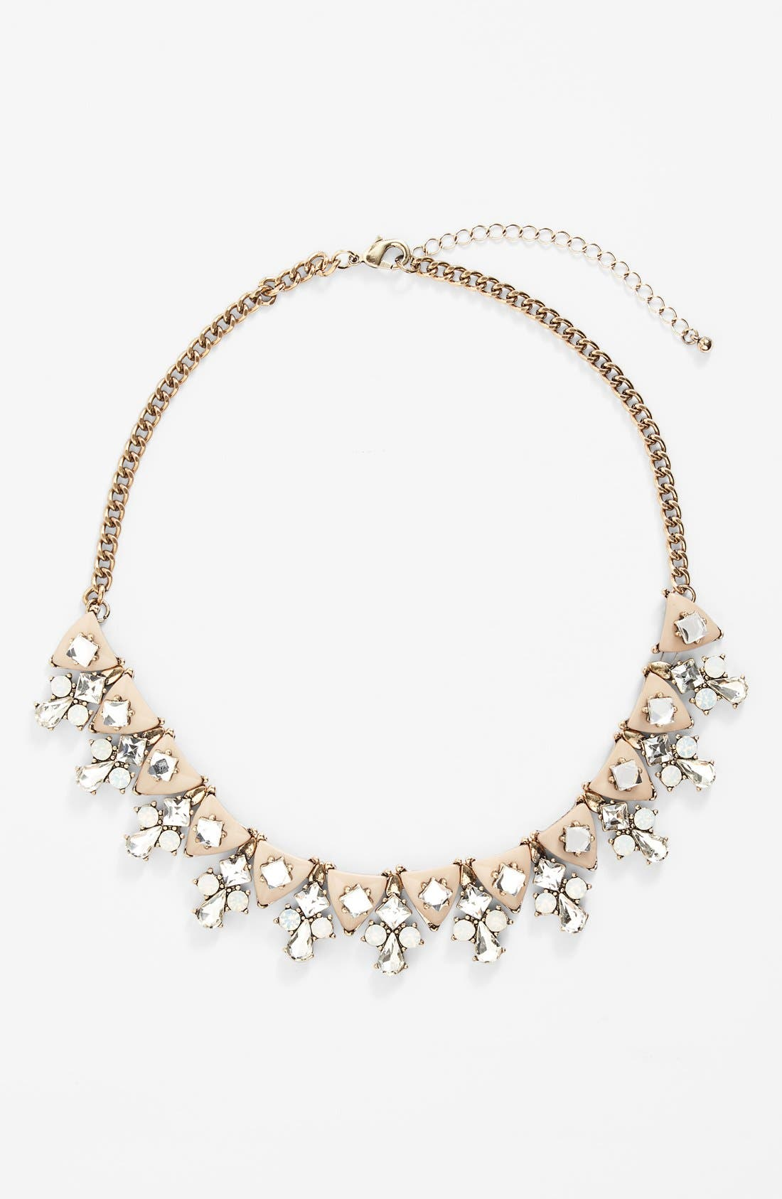 SOLE SOCIETY 'Dainty' Statement Necklace, Main, color, 650