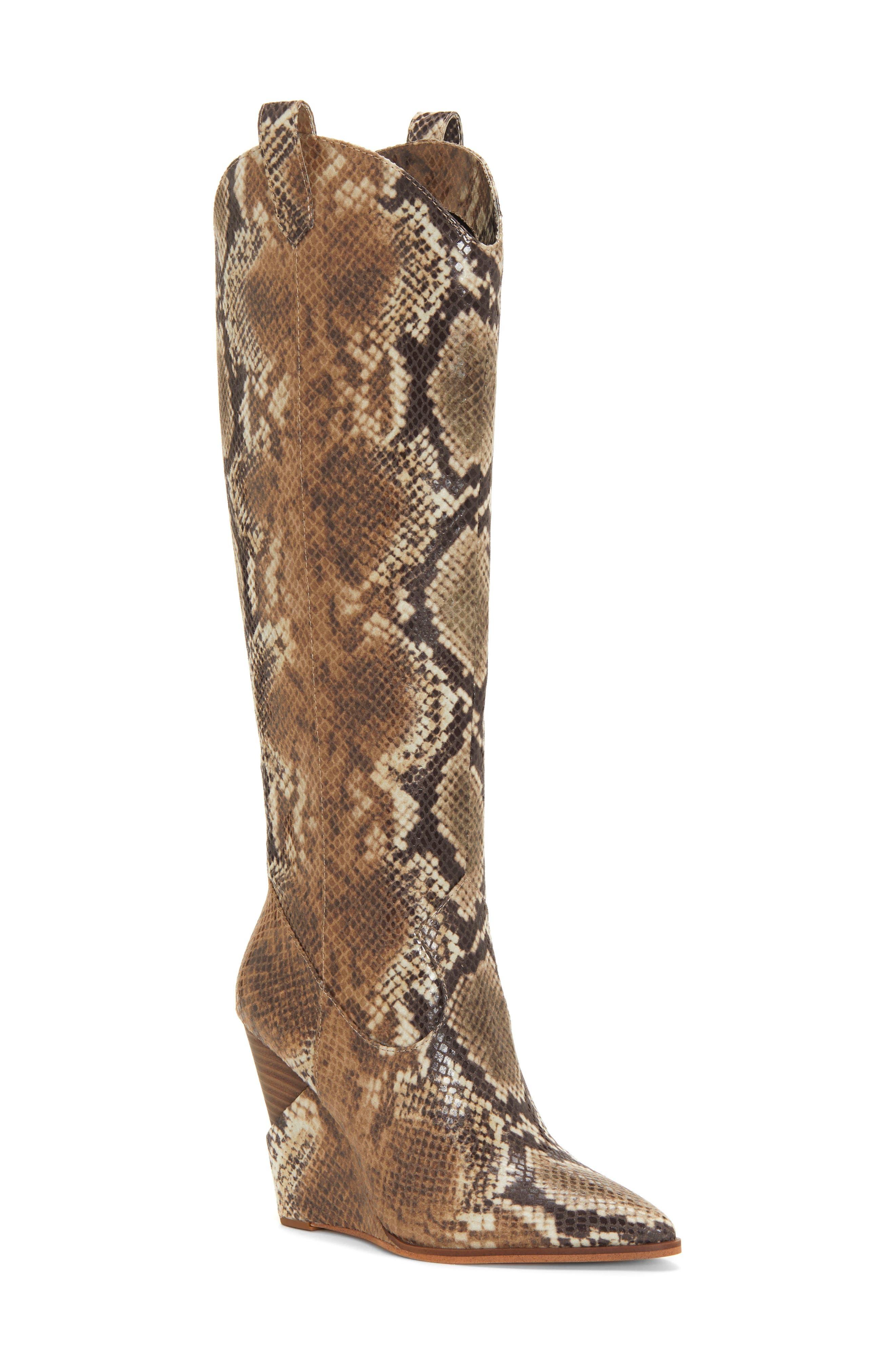Jessica Simpson Havrie Knee High Boot- Beige