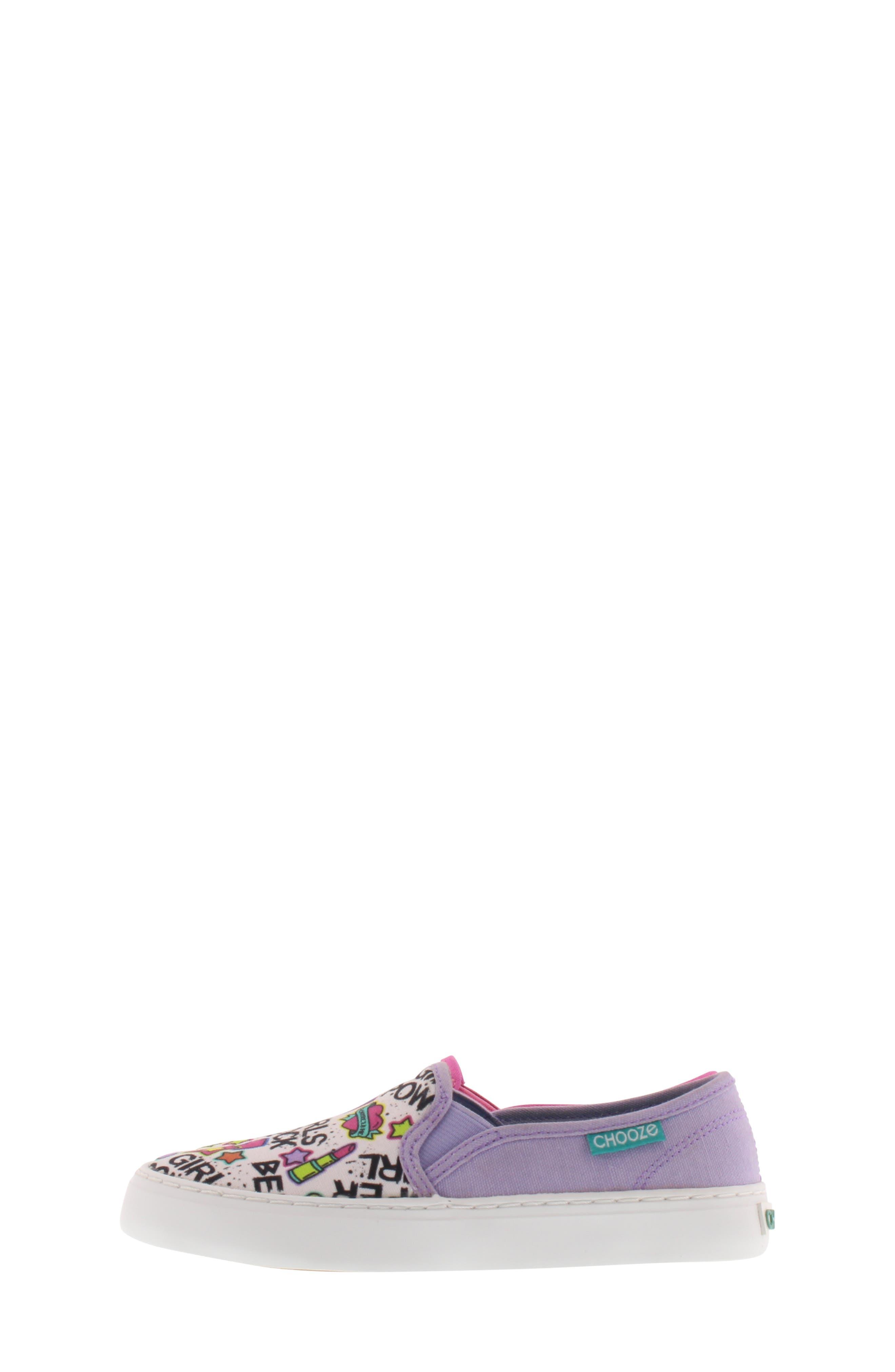 CHOOZE, Move Motion Slip-On Sneaker, Alternate thumbnail 9, color, PINK LAVENDER