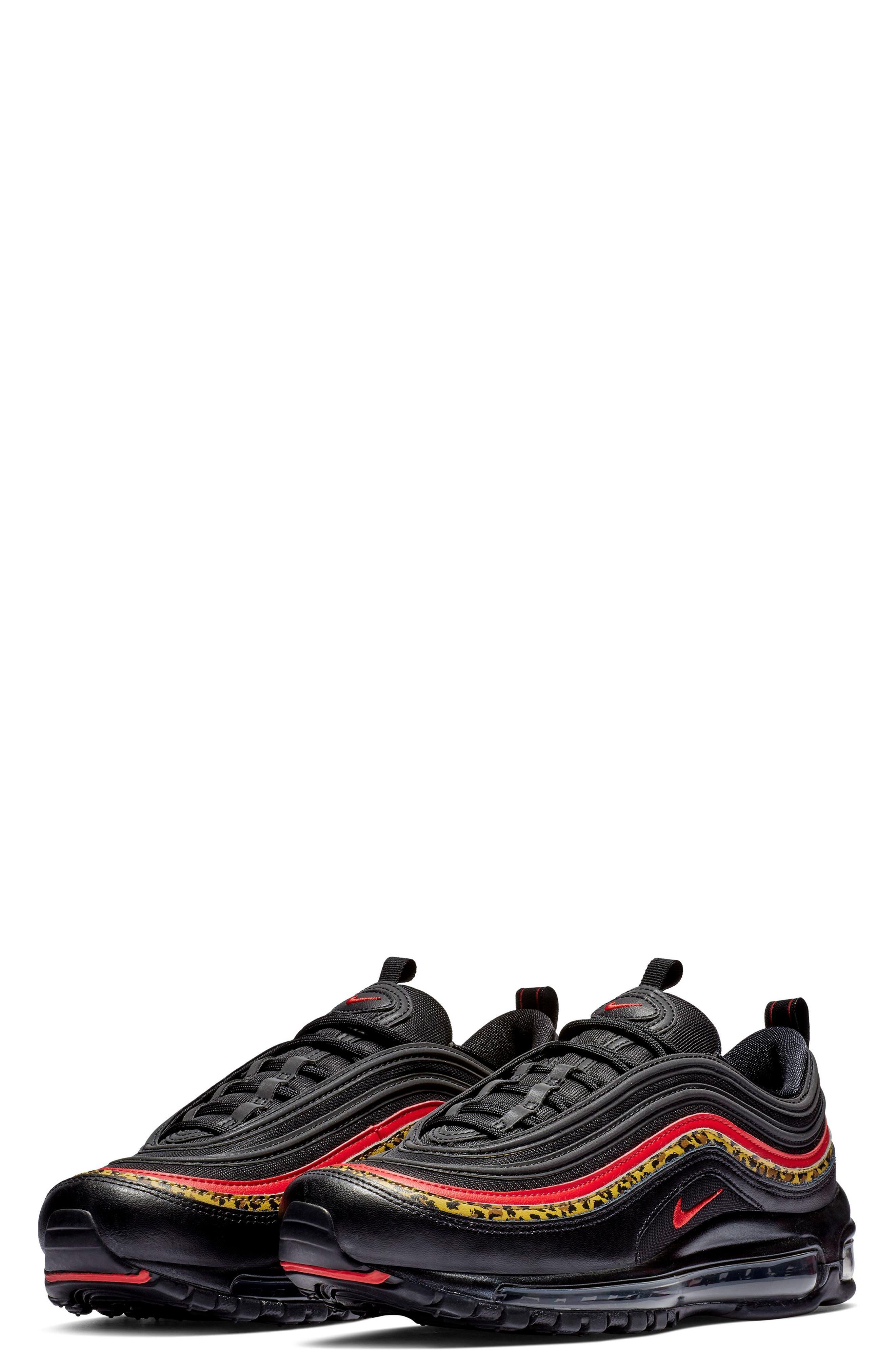 NIKE, Air Max 97 Sneaker, Main thumbnail 1, color, 001