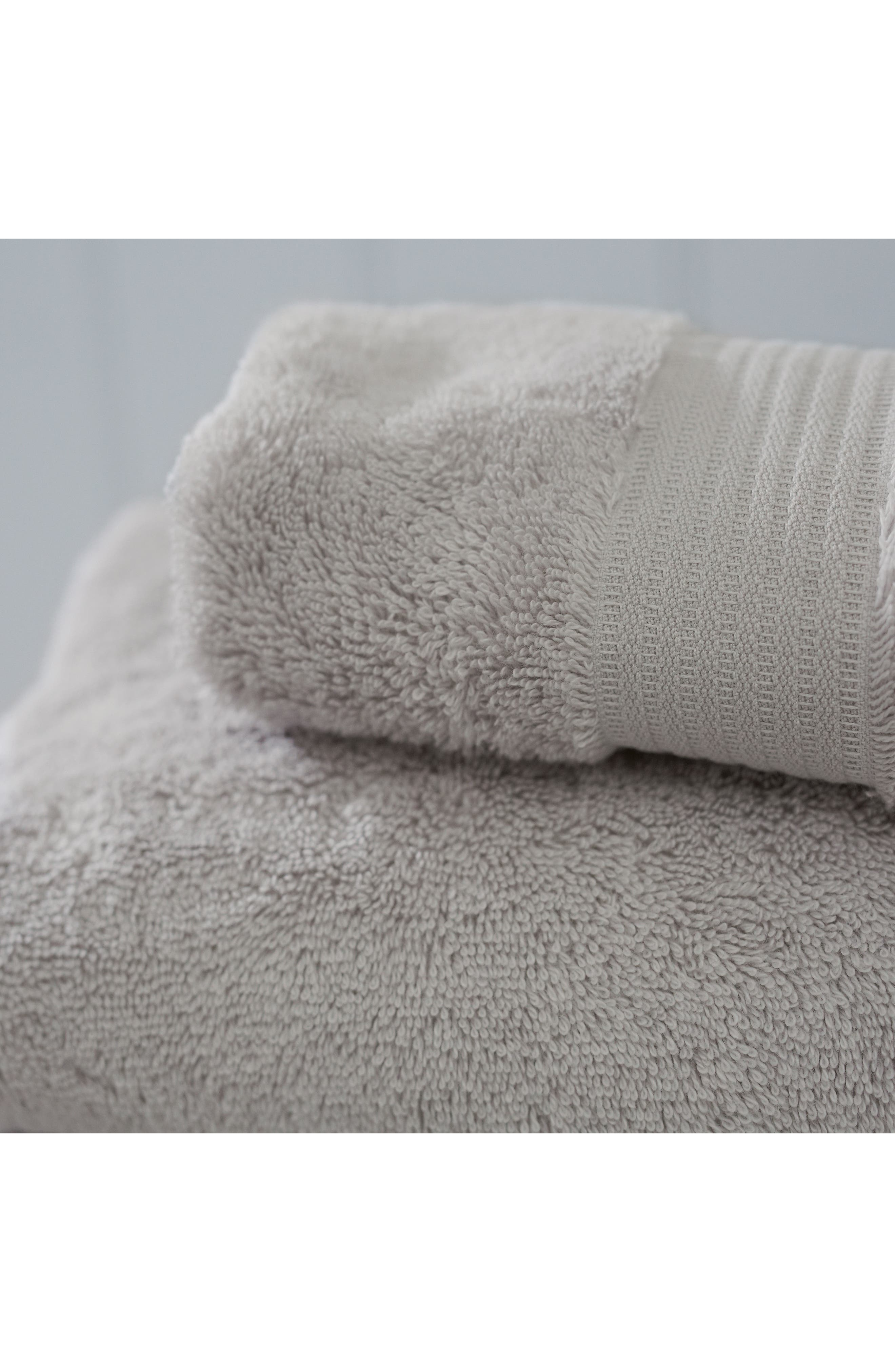 THE WHITE COMPANY, Luxury Egyptian Cotton Bath Towel, Alternate thumbnail 2, color, PEARL GREY