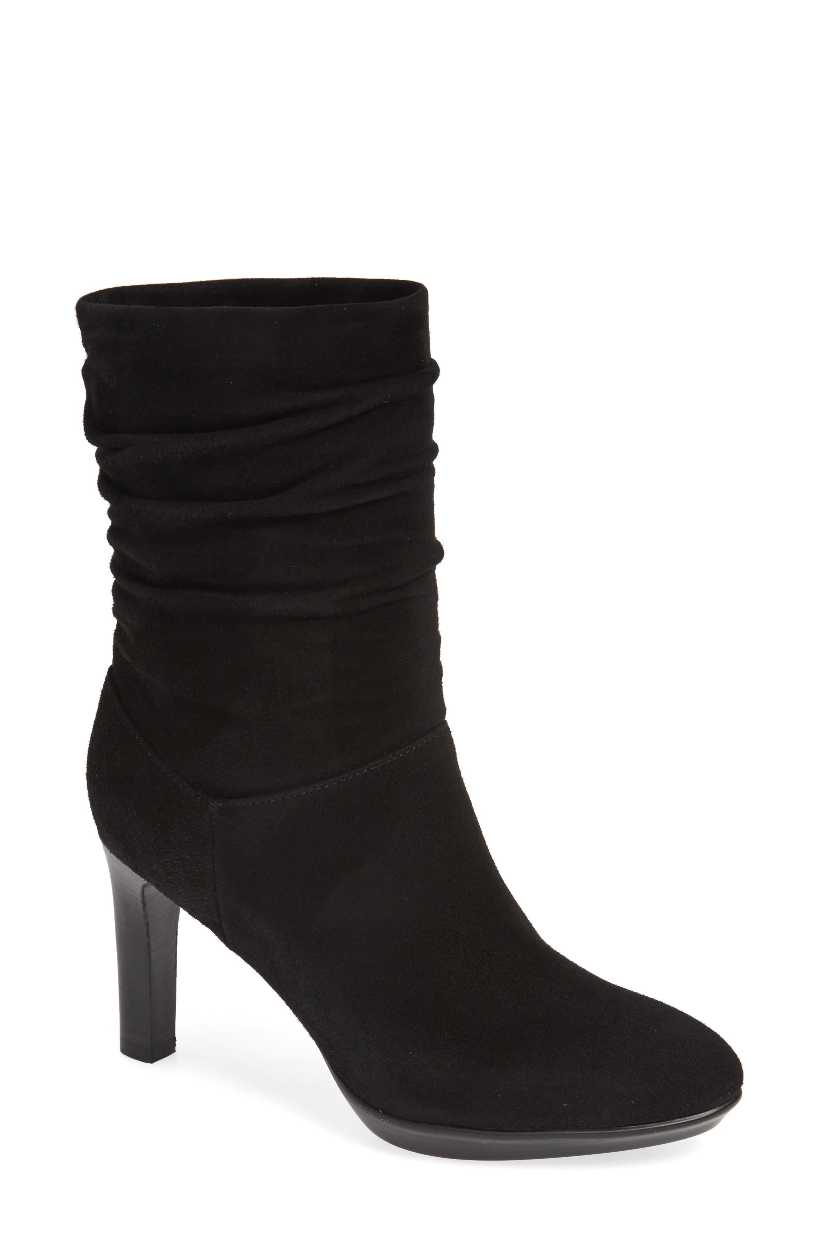 Aquatalia Raegan Weatherproof Boot, Black