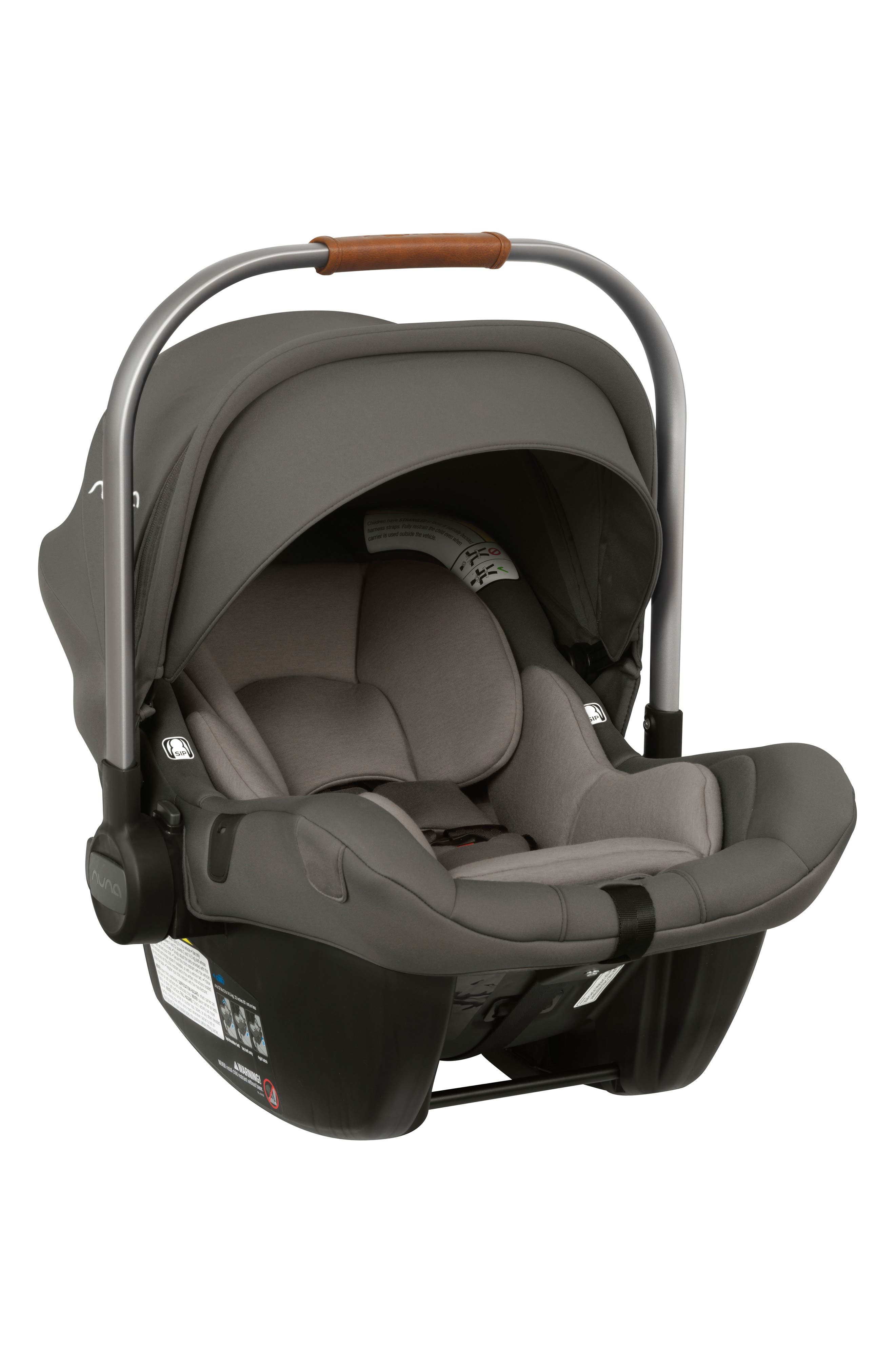 NUNA, PIPA<sup>™</sup> Lite LX Infant Car Seat & Base, Alternate thumbnail 4, color, FROST