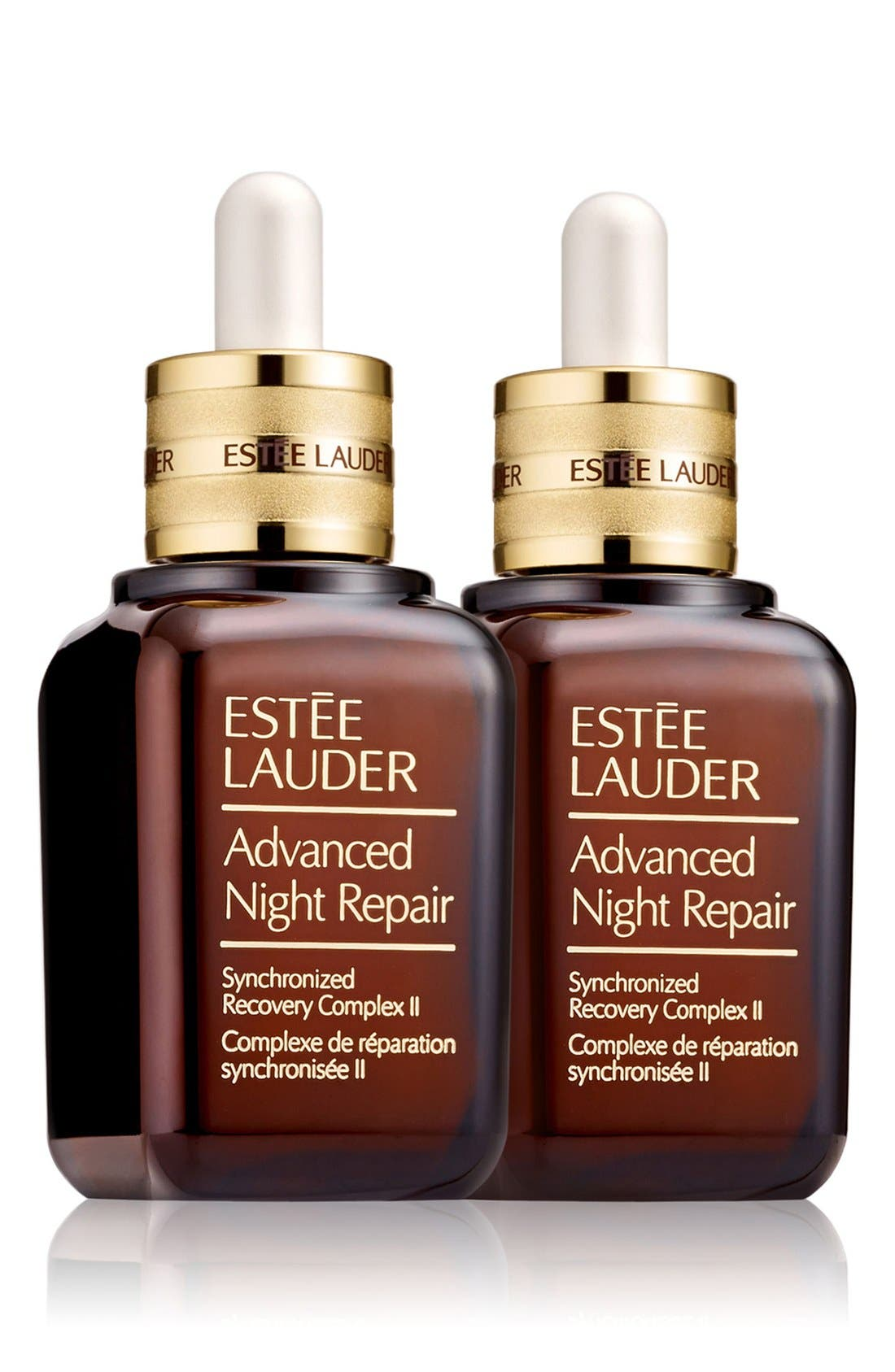 ESTÉE LAUDER, Advanced Night Repair Synchronized Recovery Complex II Duo, Main thumbnail 1, color, NO COLOR
