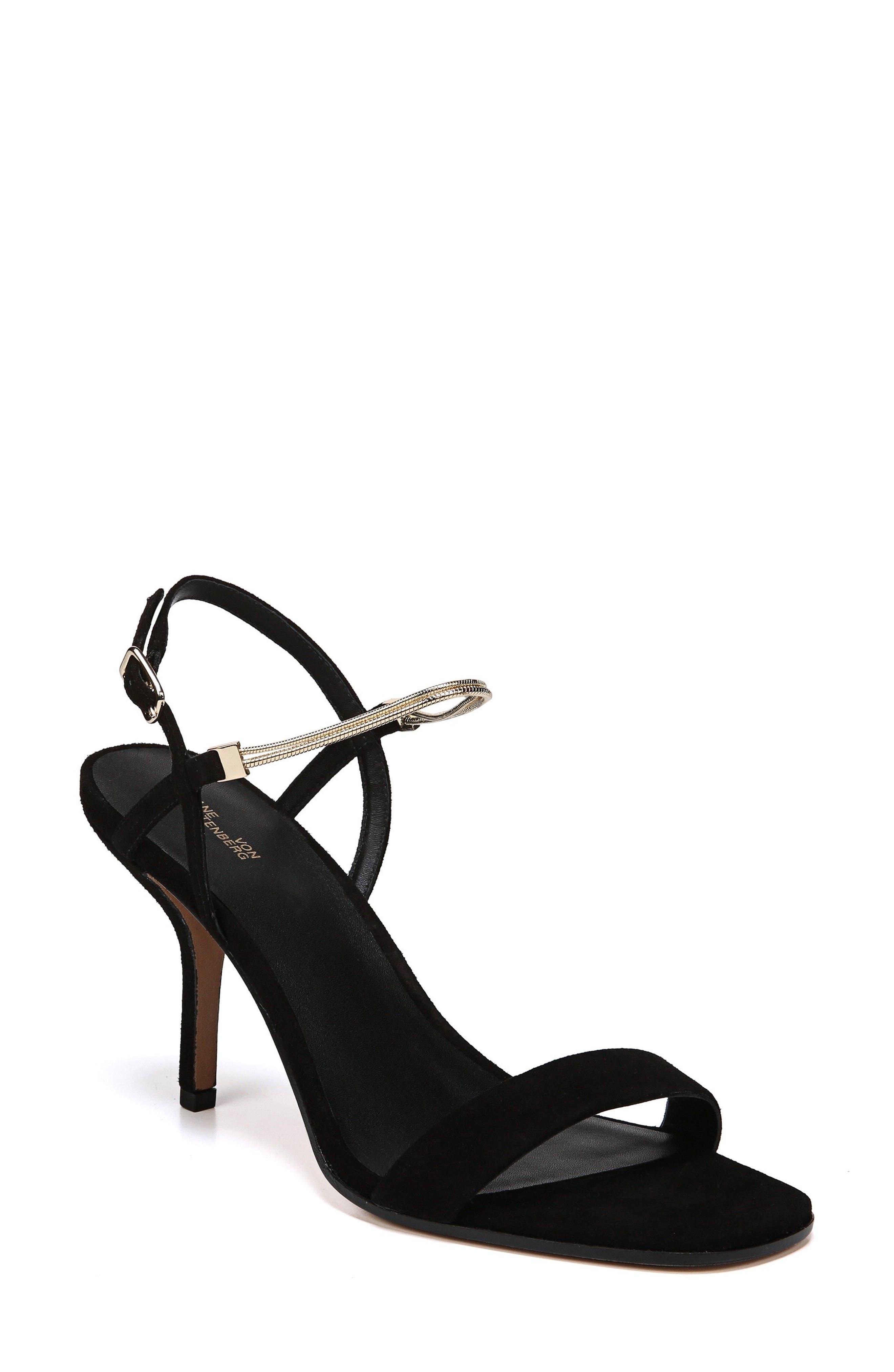 Diane Von Furstenberg Frankie Sandal- Black